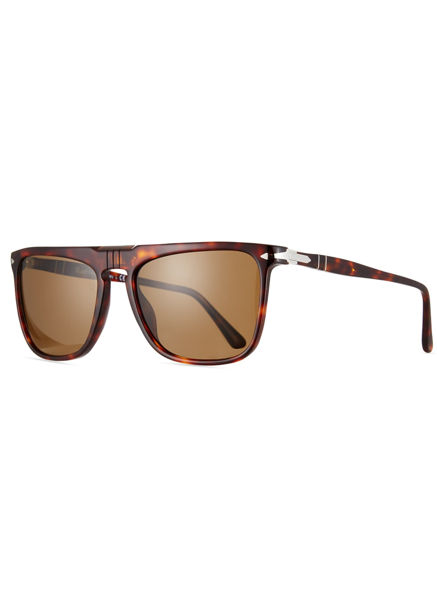 Image 4 of 4: Men's Patterned Rectangle Sunglasses