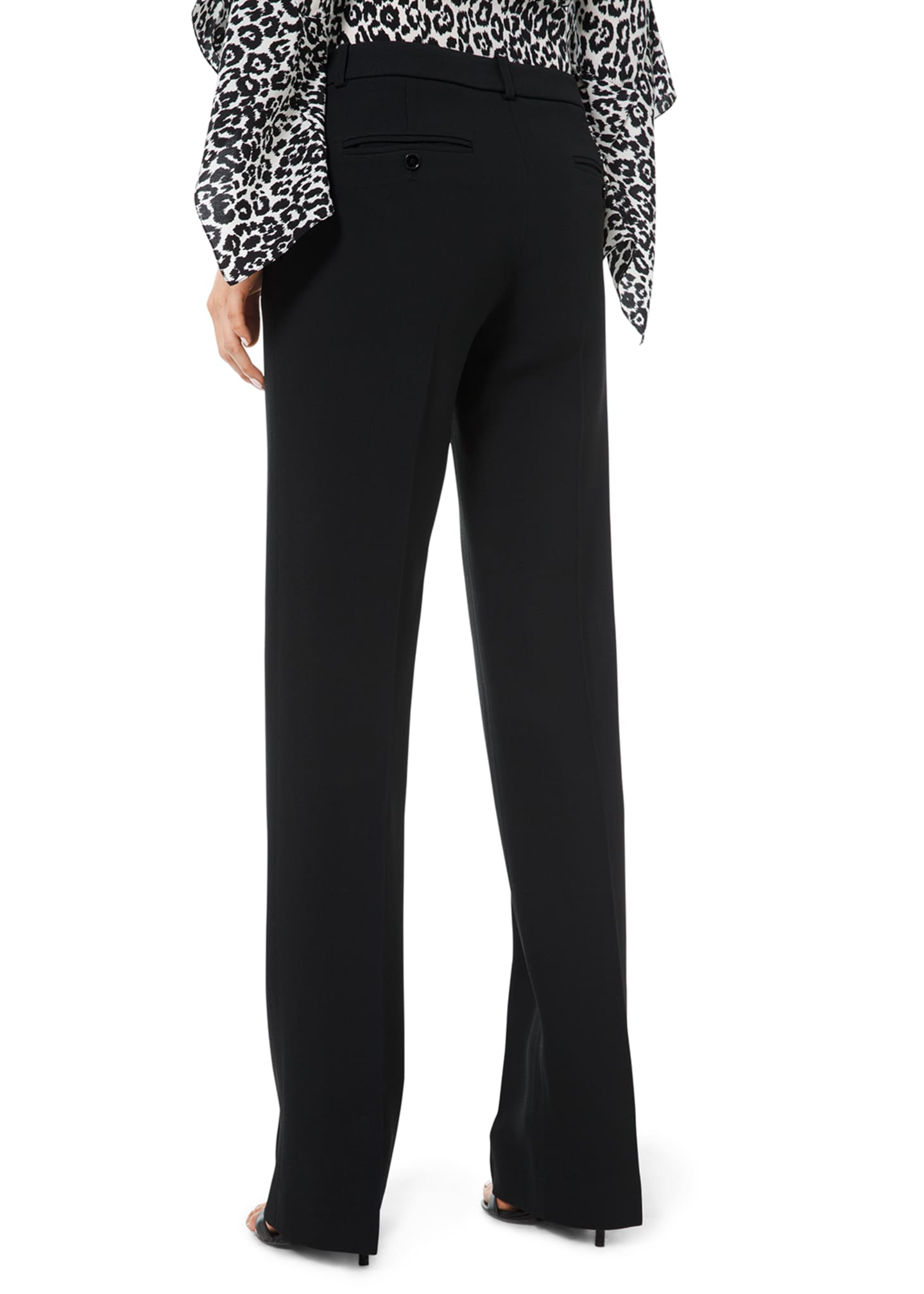 Image 2 of 2: Straight-Leg Trousers