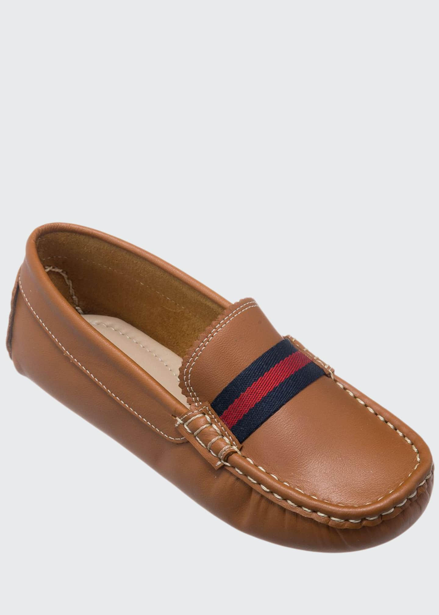 Elephantito Boys' Leather Club Loafer, Toddler