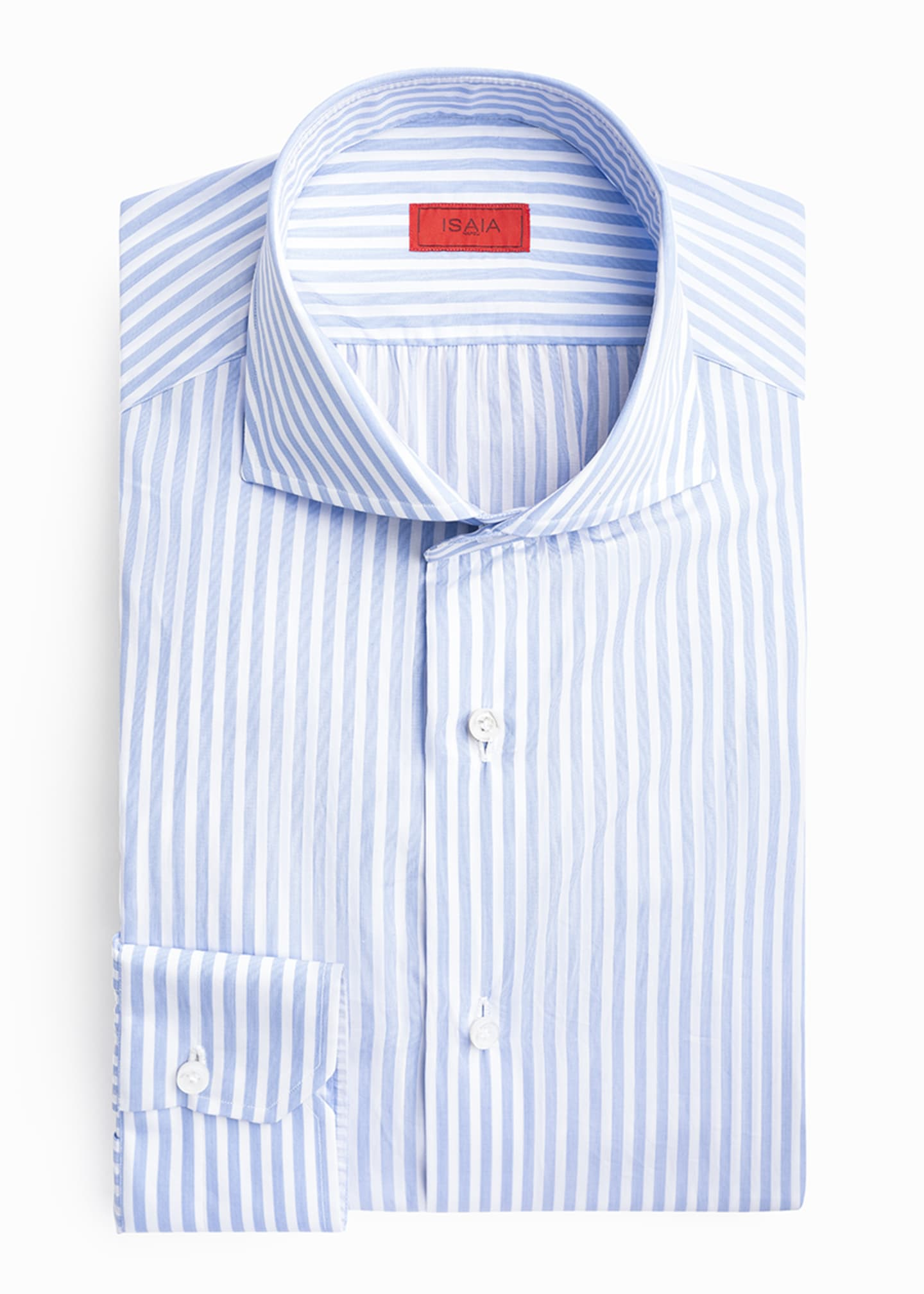 Image 3 of 4: Men's Bengal Stripe Dress Shirt