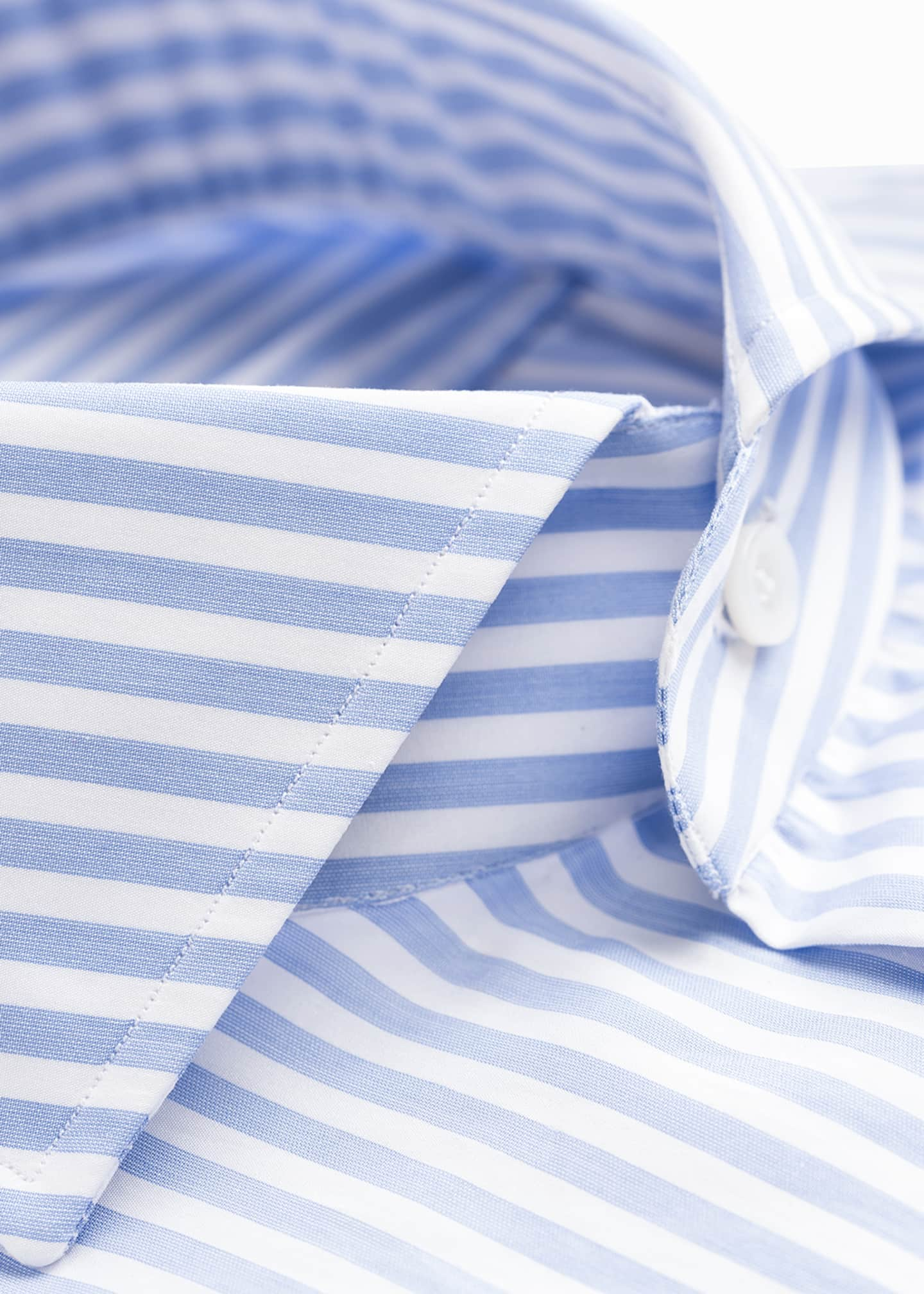 Image 4 of 4: Men's Bengal Stripe Dress Shirt