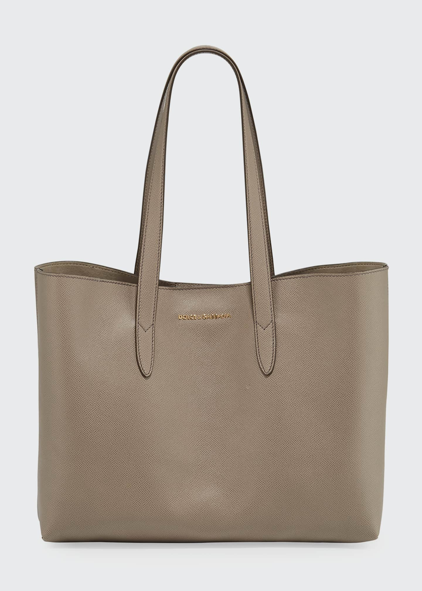 Image 1 of 3: Dauphine Morbi Stampa Shopping Tote Bag