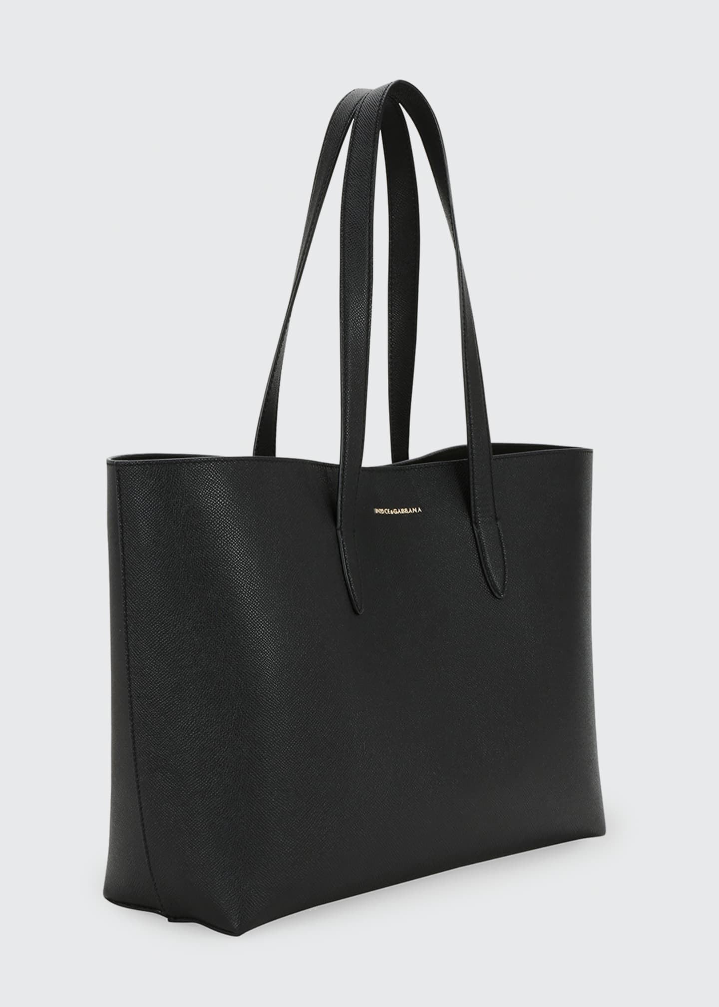 Image 2 of 3: Dauphine Morbi Stampa Shopping Tote Bag