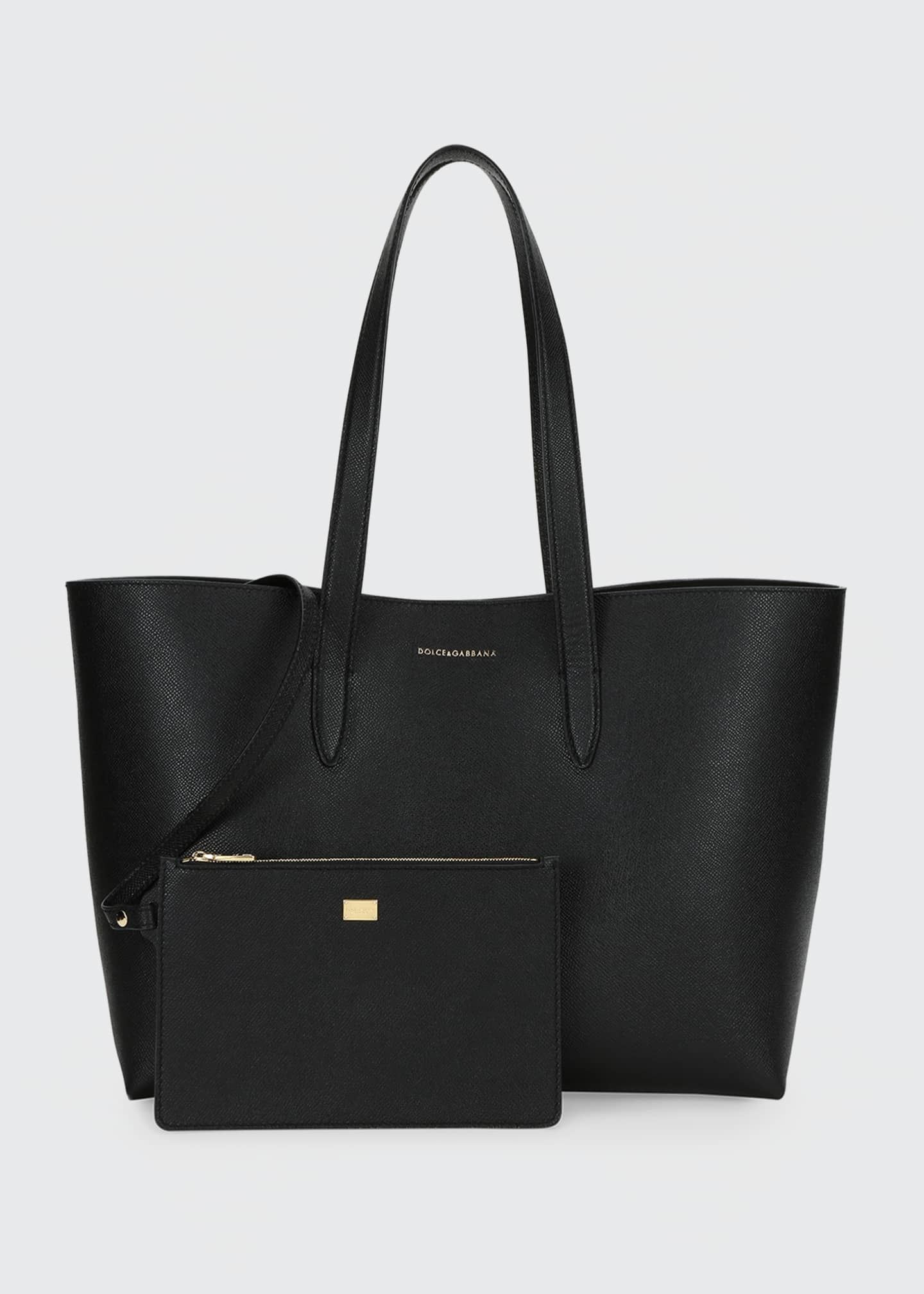Image 3 of 3: Dauphine Morbi Stampa Shopping Tote Bag