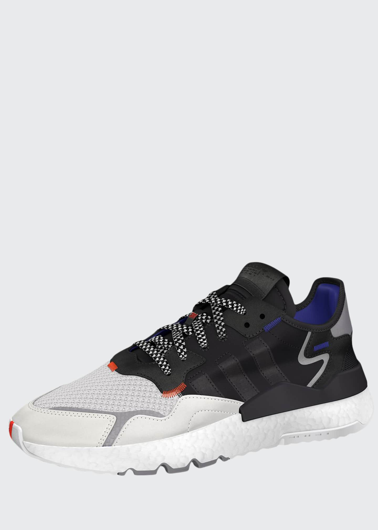 Adidas Men's Nite Jogger Graphic Trainer Sneakers