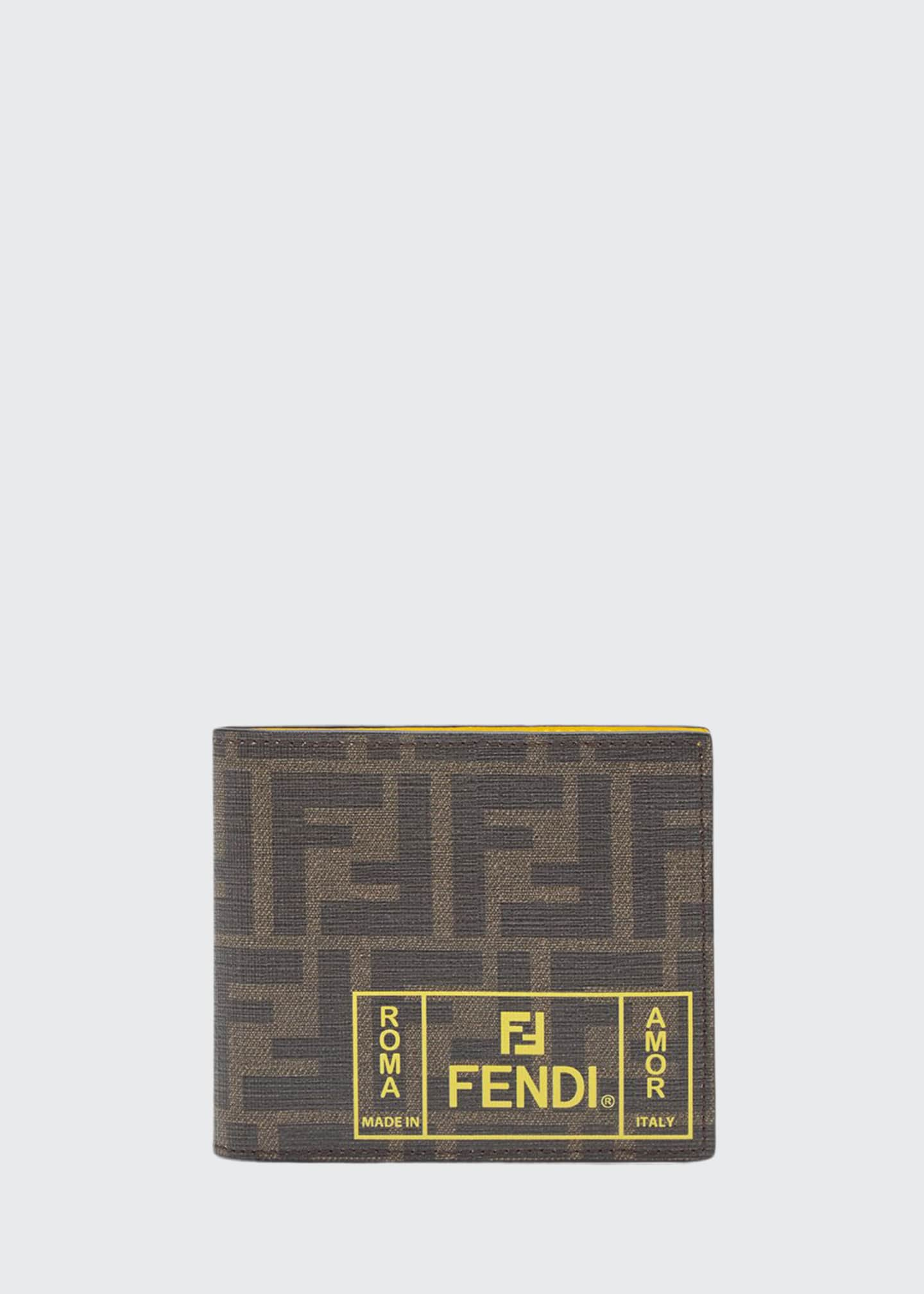 Fendi Men's FF Roma Amor Wallet
