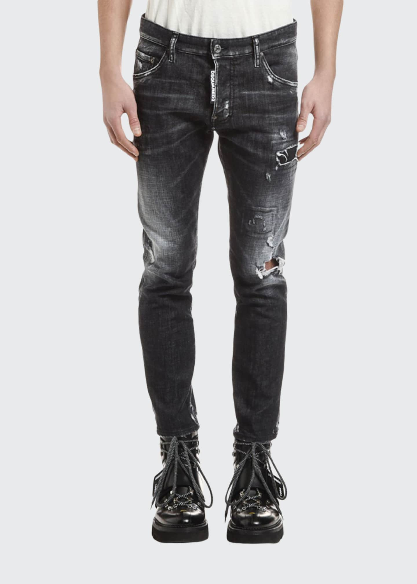 Dsquared2 Men's Distressed Skater Jeans