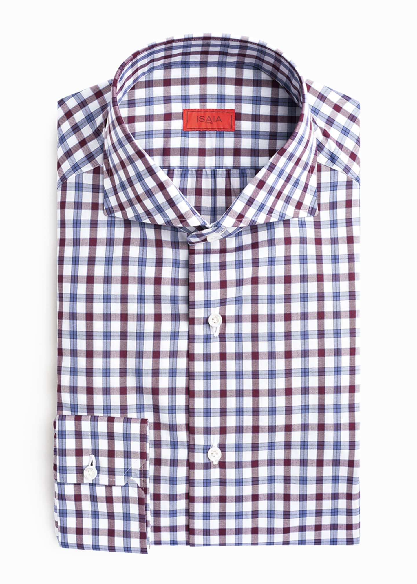 Image 2 of 2: Men's Two-Tone Check Sport Shirt