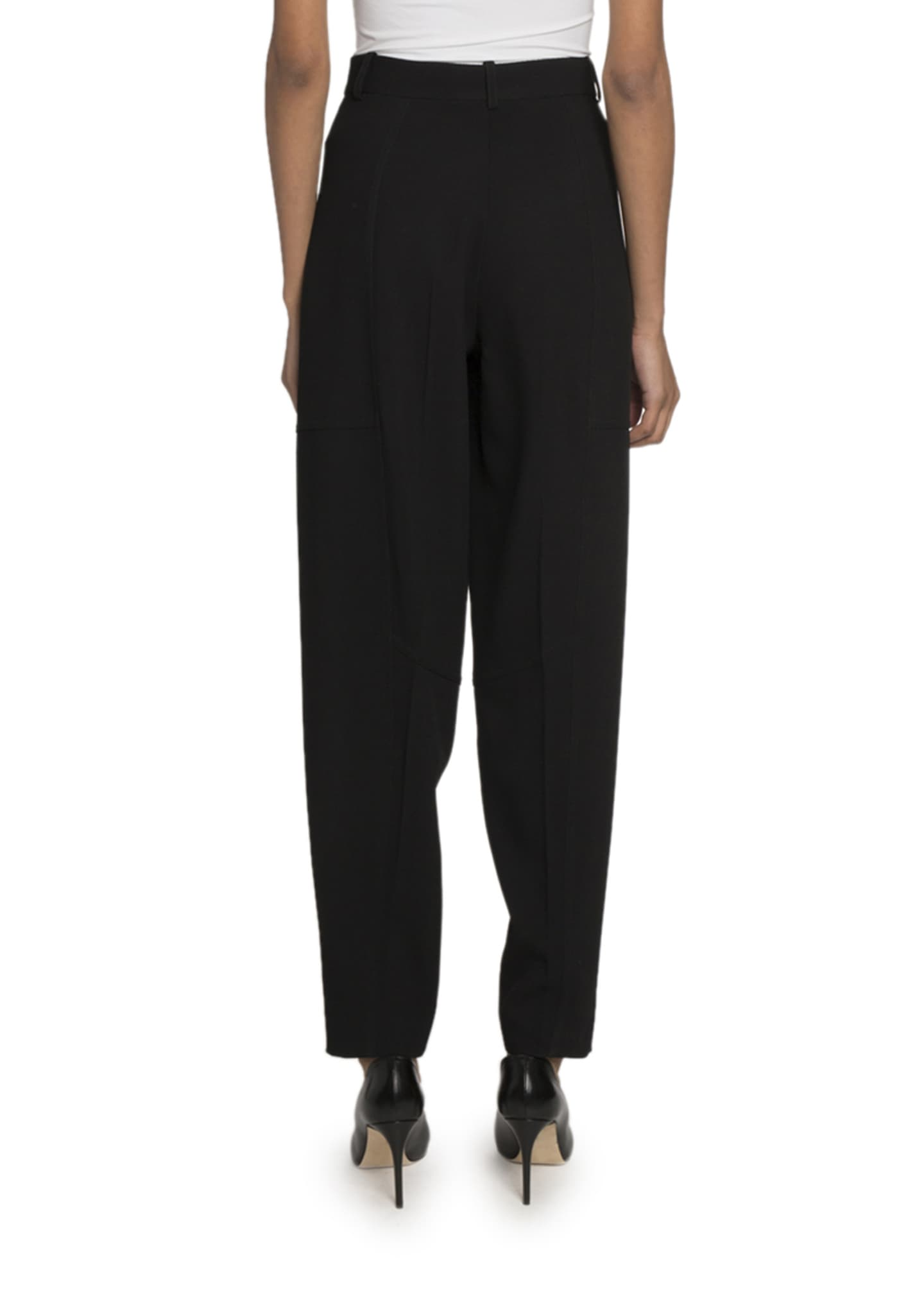 Image 2 of 2: High-Waist Paneled Trousers