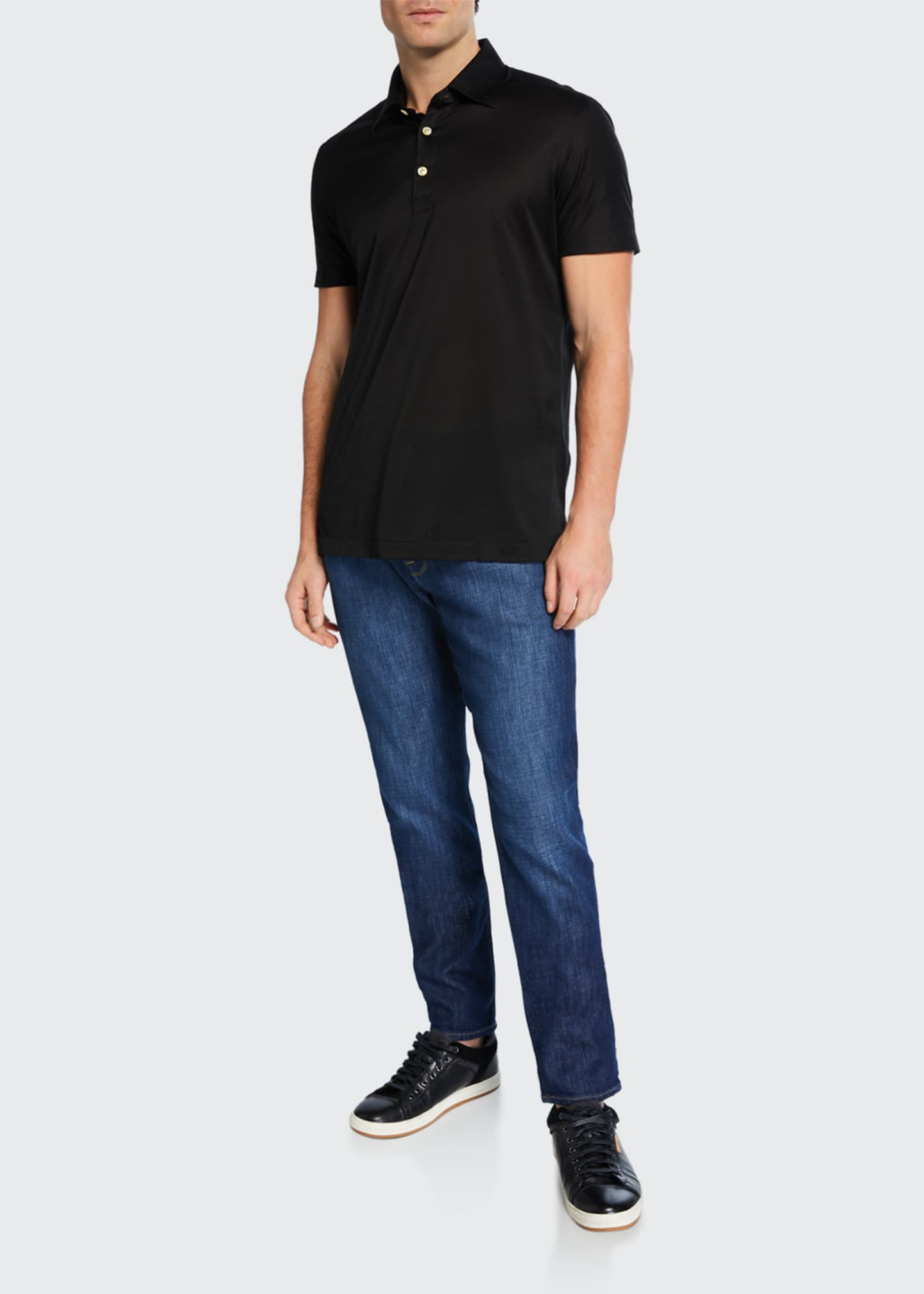 "Image 3 of 3: Men's L'Homme Athletic Jeans - 33"" Inseam"