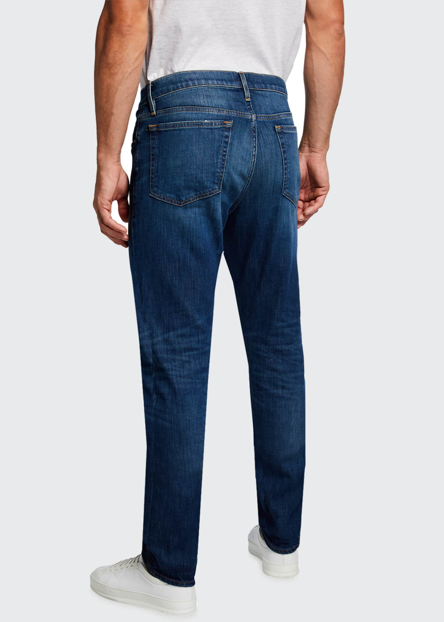 "Image 2 of 3: Men's L'Homme Athletic Jeans - 33"" Inseam"