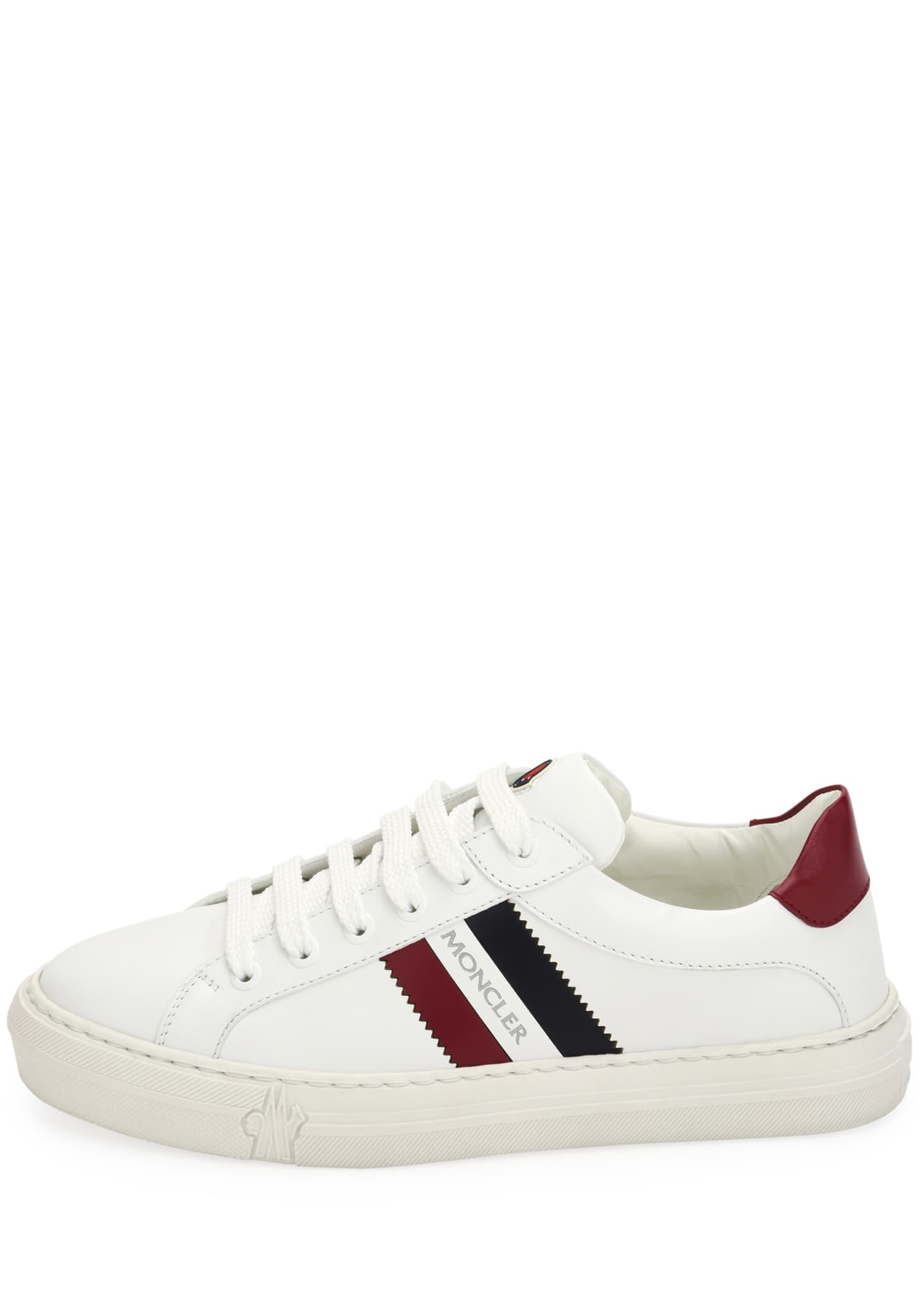 Image 2 of 3: Ariel Scarpa Leather Sneakers
