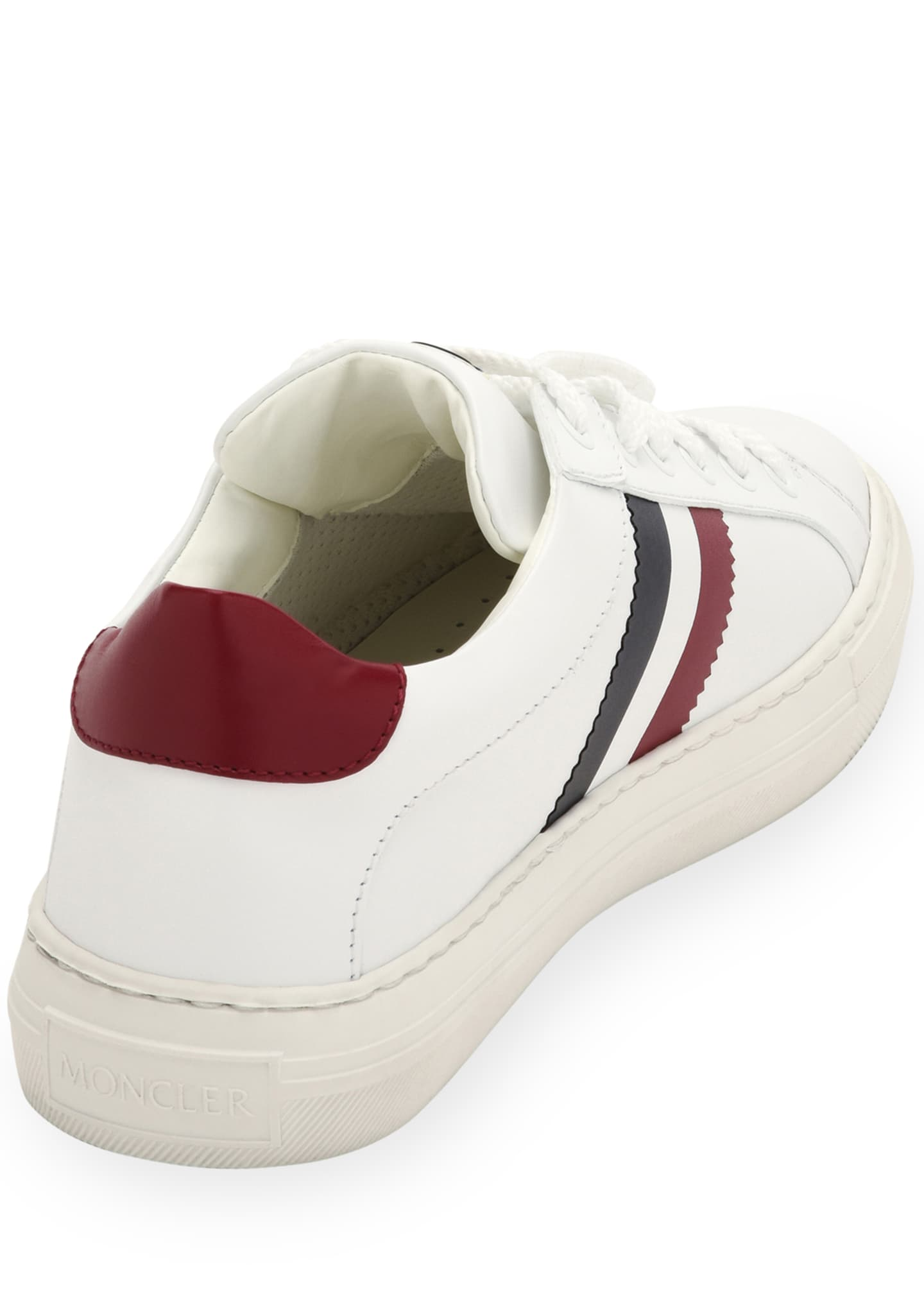Image 3 of 3: Ariel Scarpa Leather Sneakers