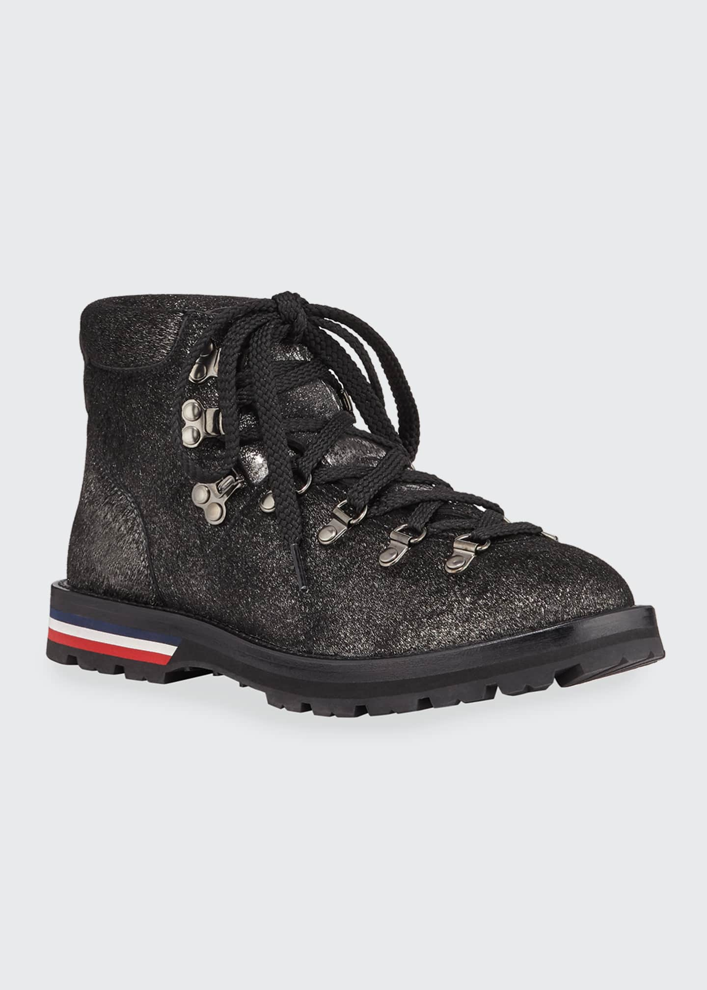 Image 2 of 3: Blanche Glitter Lace-Up Scarpa Boots