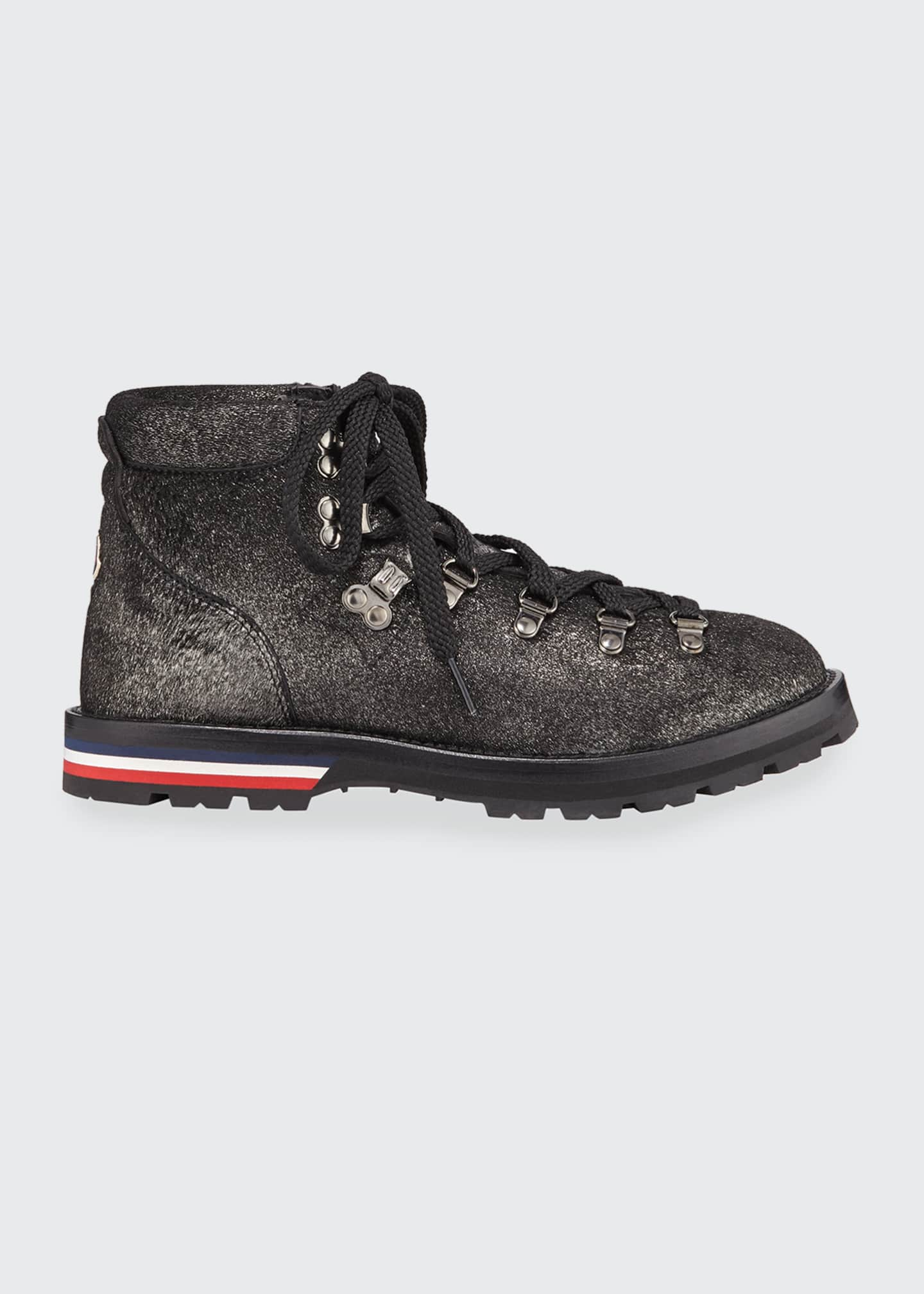 Image 1 of 3: Blanche Glitter Lace-Up Scarpa Boots