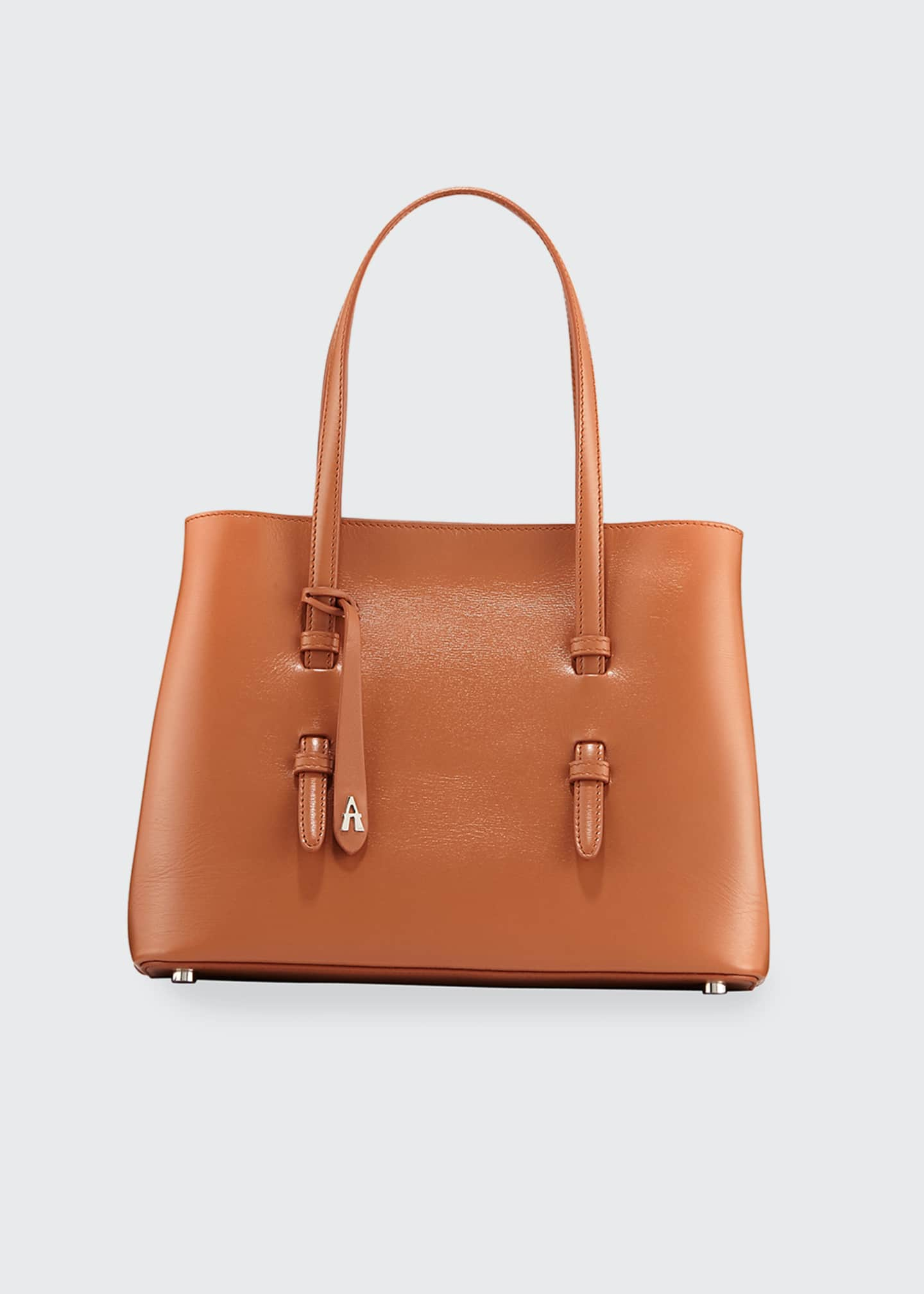 Image 1 of 4: Mina Vienne Small Lux Tote Bag