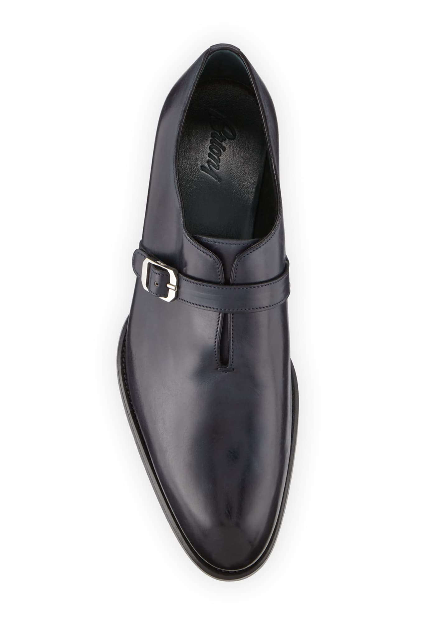Image 2 of 3: Men's Benedict Monk-Strap Loafers