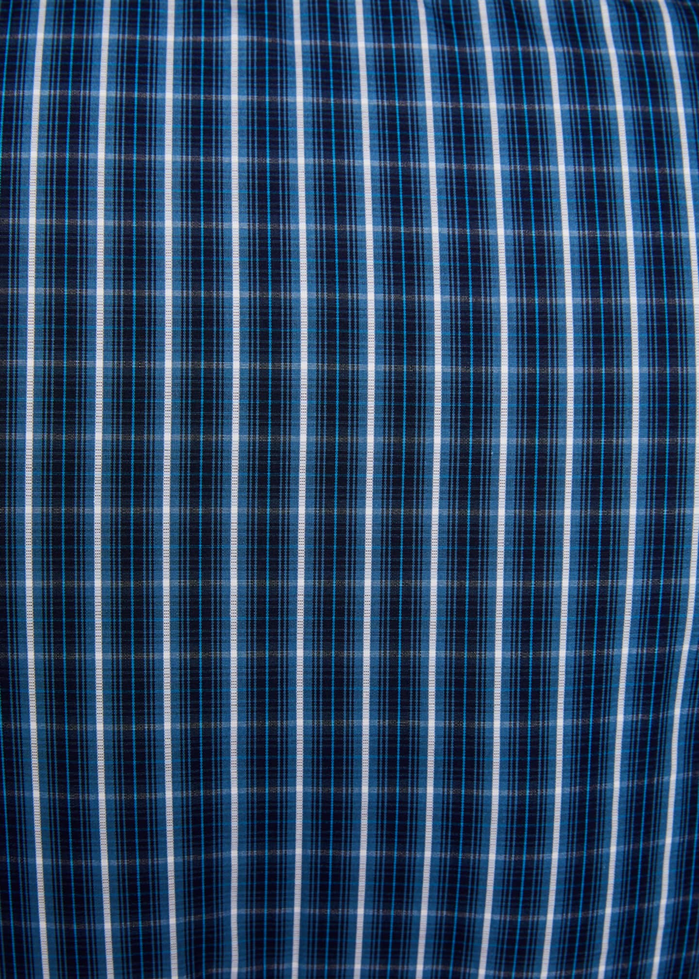 Image 3 of 3: Men's Long-Sleeve Check Sport Shirt