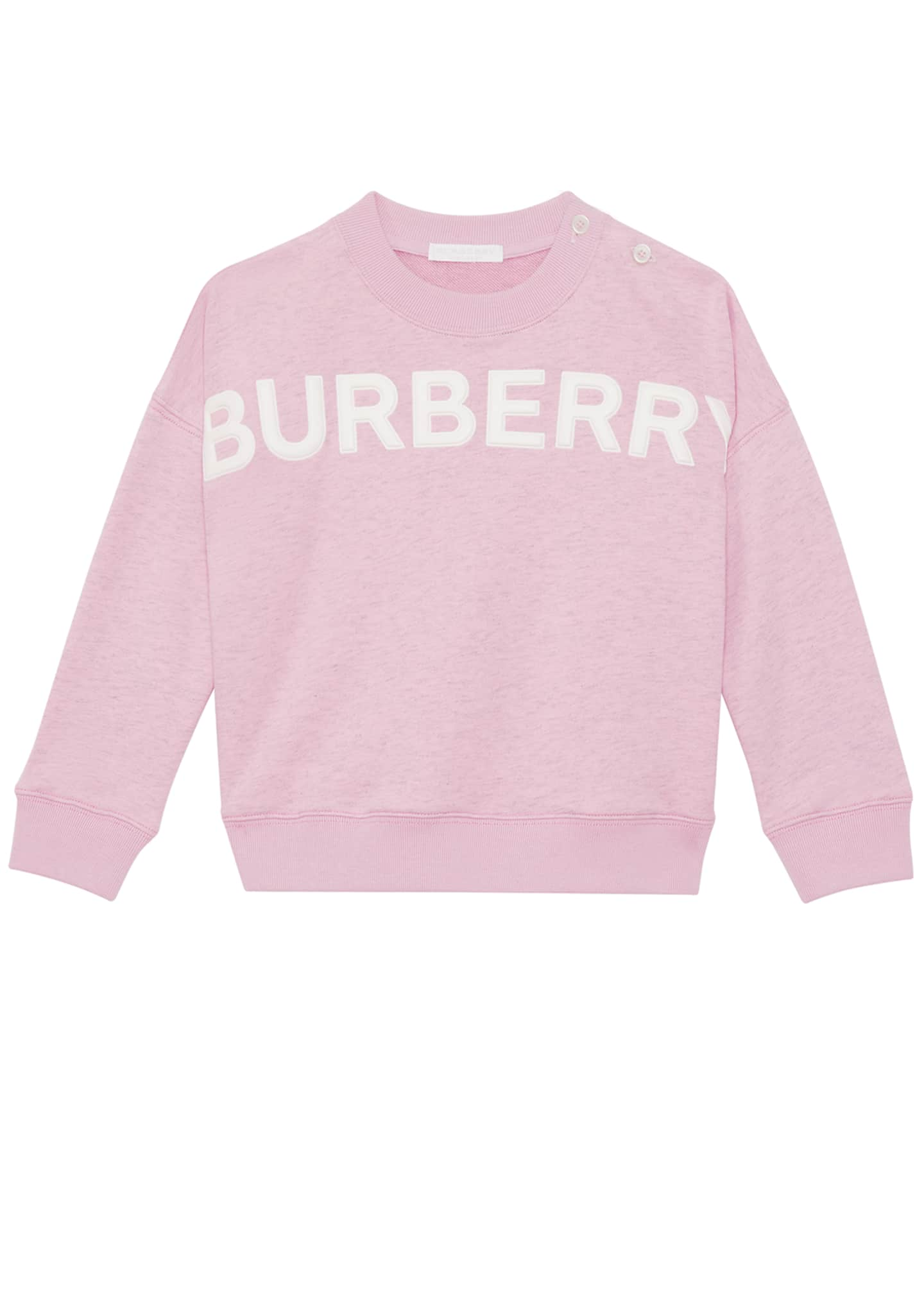 Burberry Mindy Embossed Logo Sweatshirt, Size 6M-2