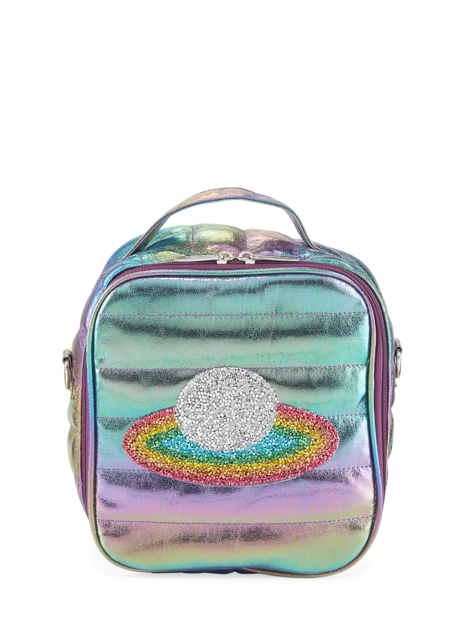 Bari Lynn Kid's Puffy Lunch Box w/ Rainbow