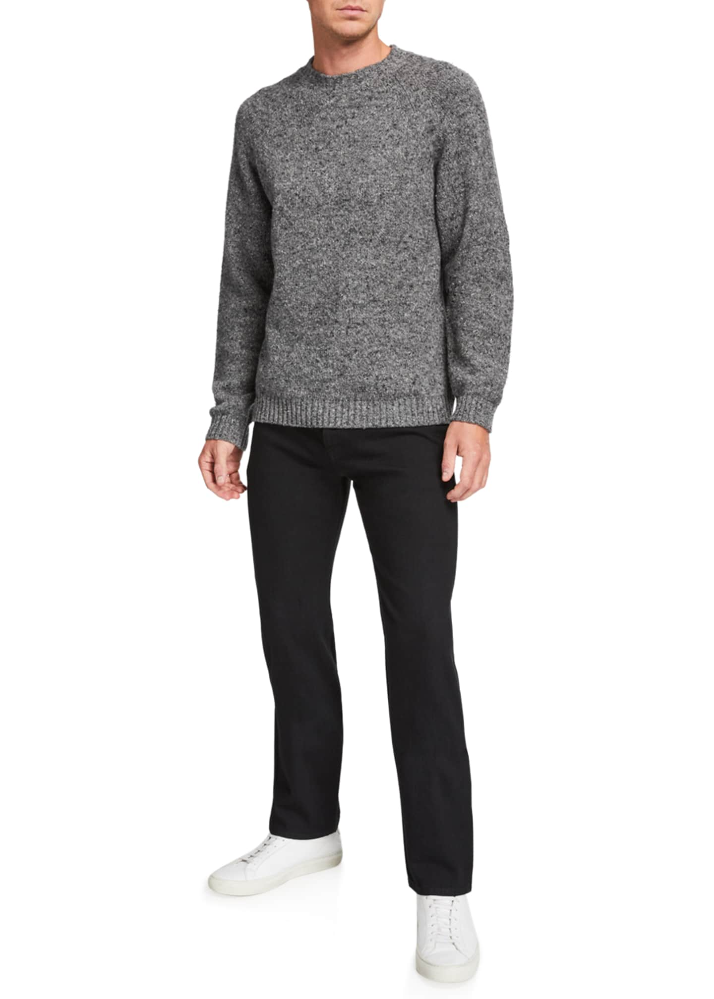Image 3 of 3: Men's Ezra Crewneck Sweater