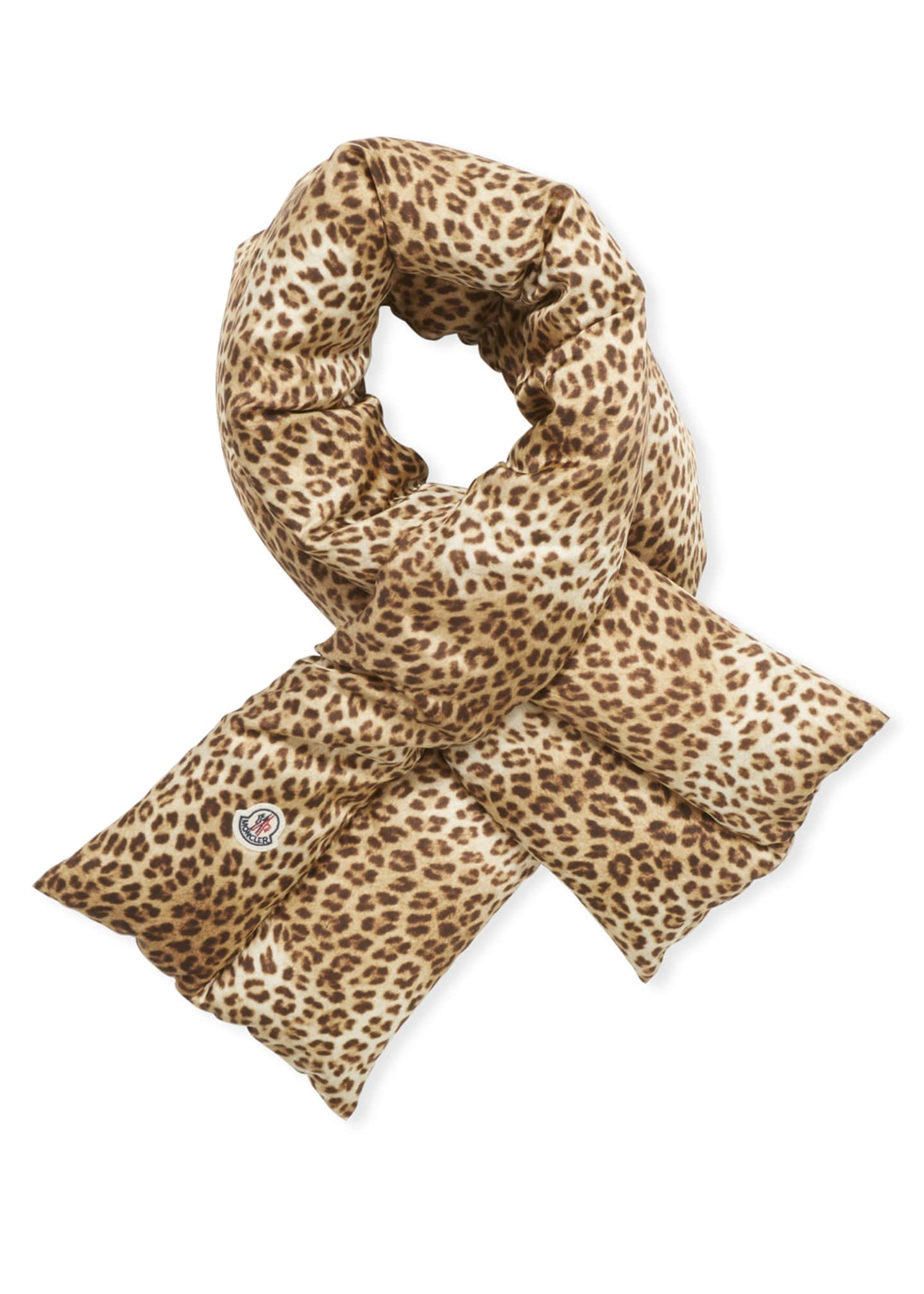 Image 2 of 3: Animal-Print Pull-Through Scarf