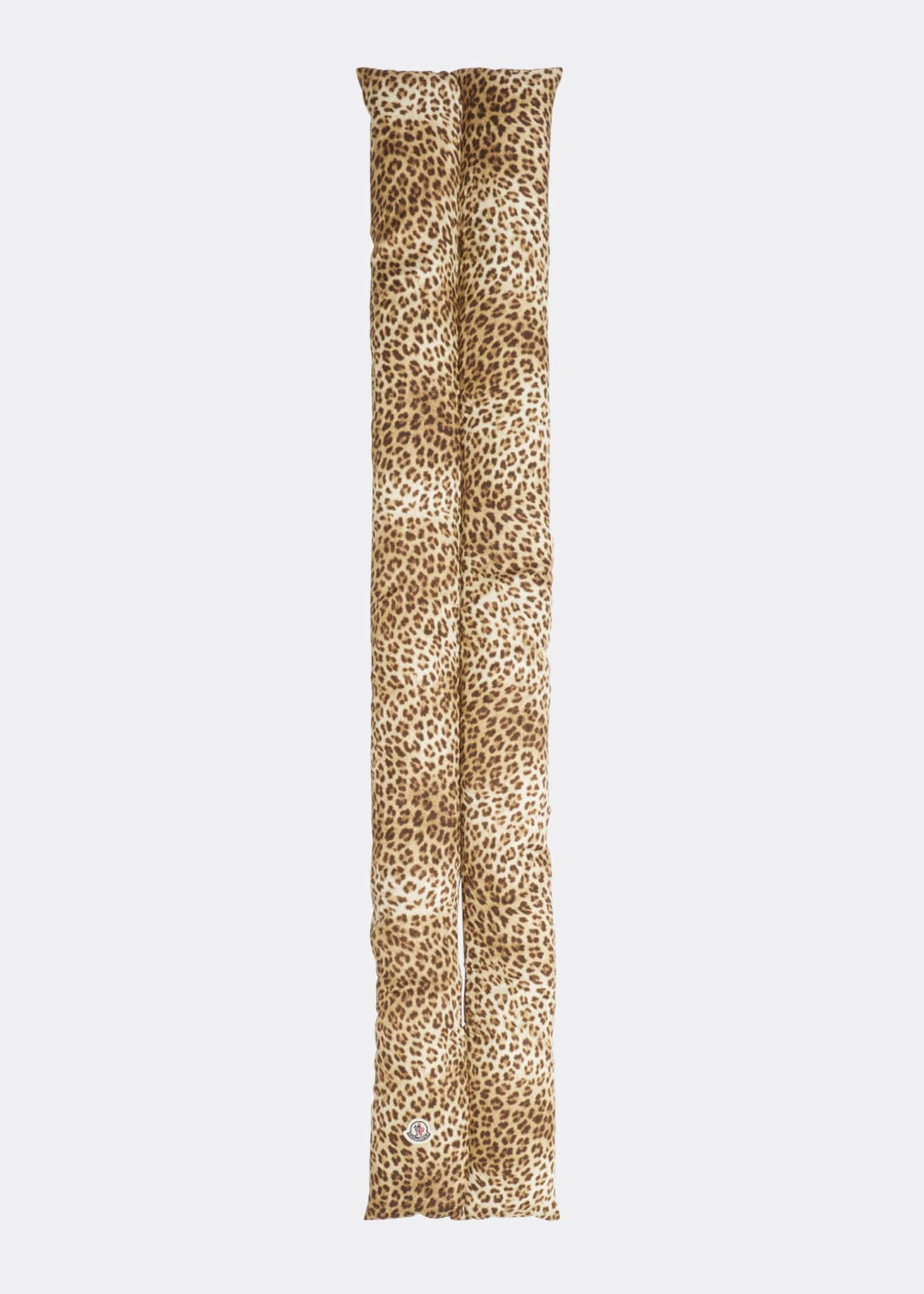 Image 3 of 3: Animal-Print Pull-Through Scarf