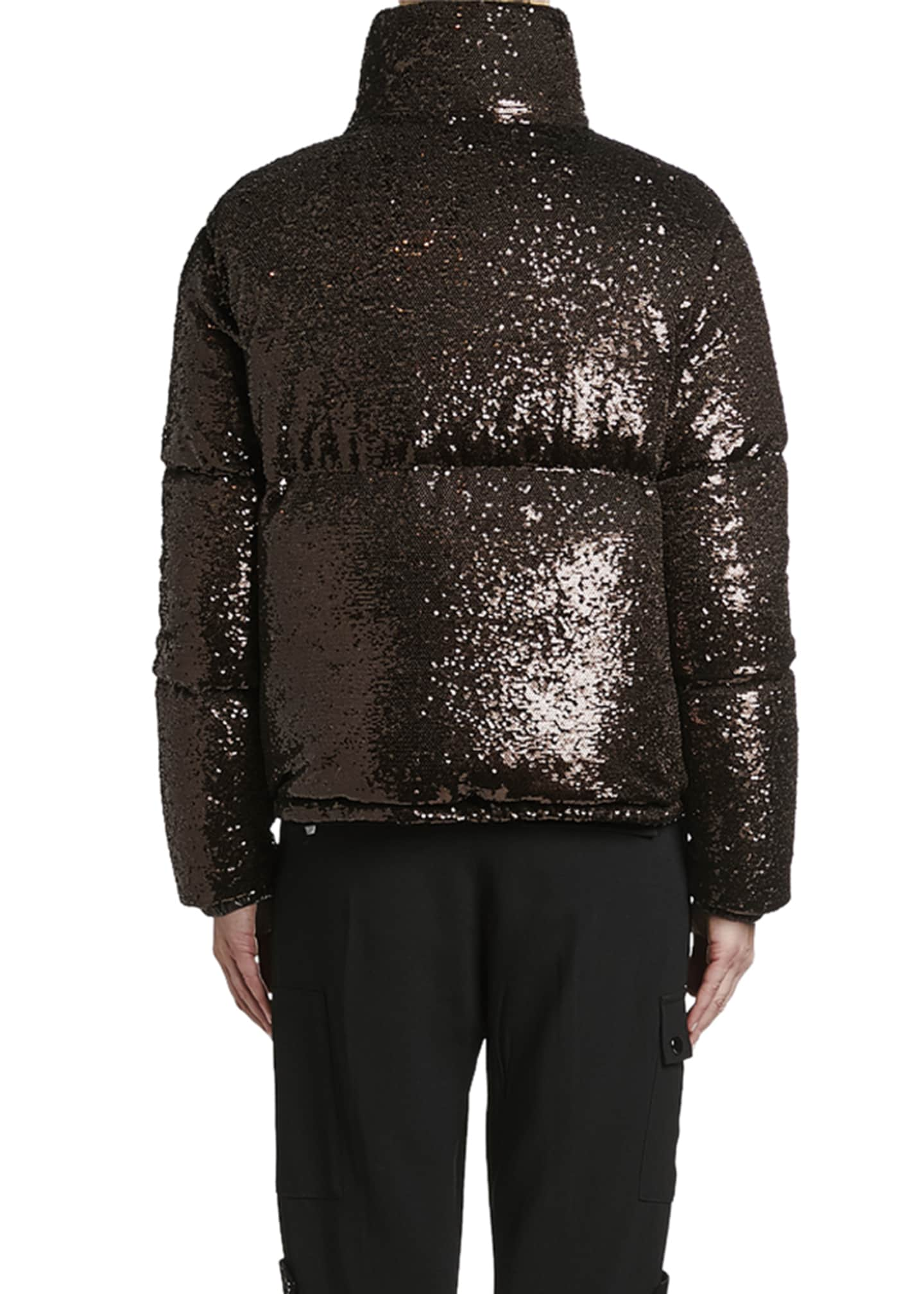 Image 2 of 3: Rimac Sequined Puffer Jacket