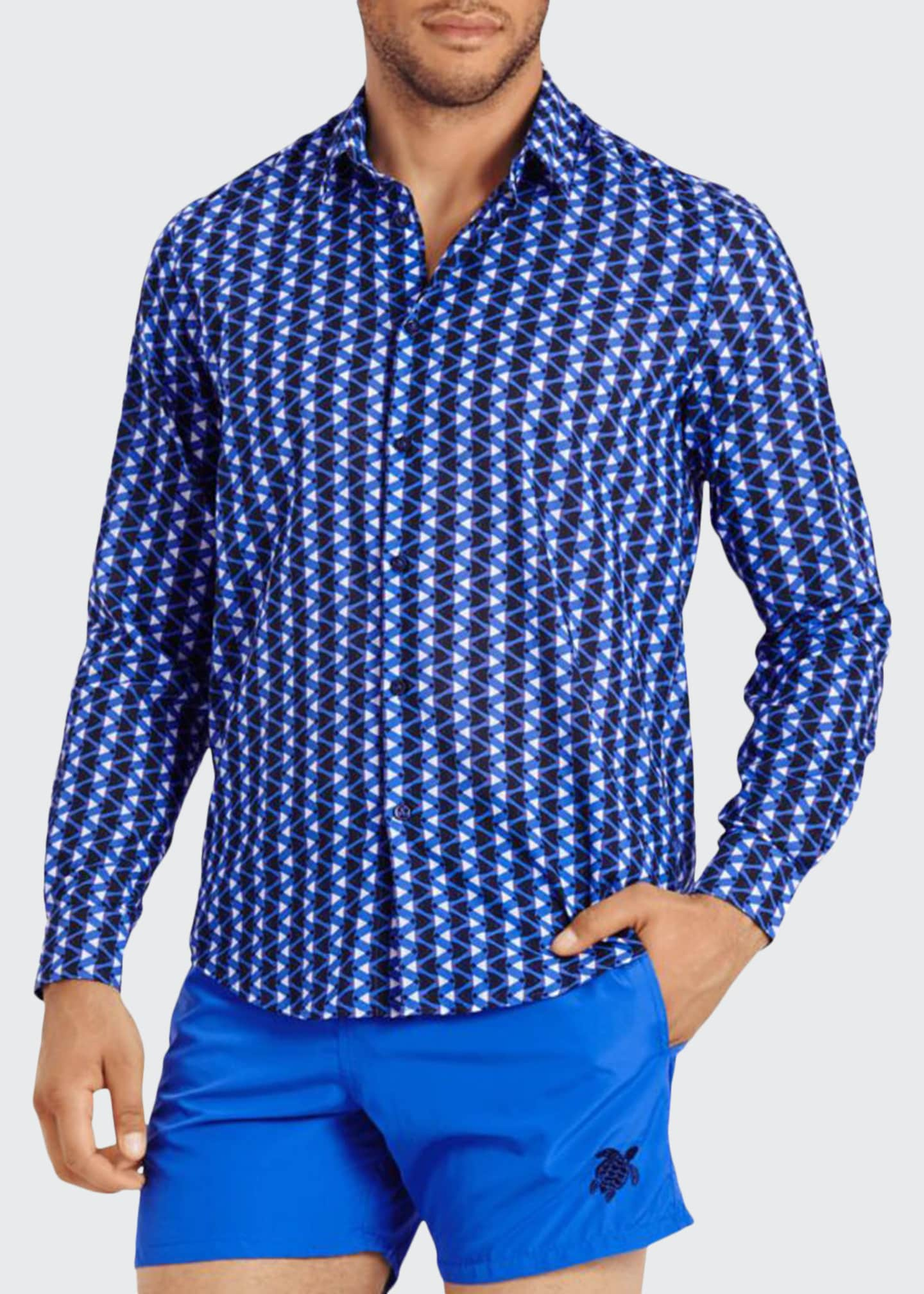 Vilebrequin Men's Re Mi Fa Soles Sport Shirt