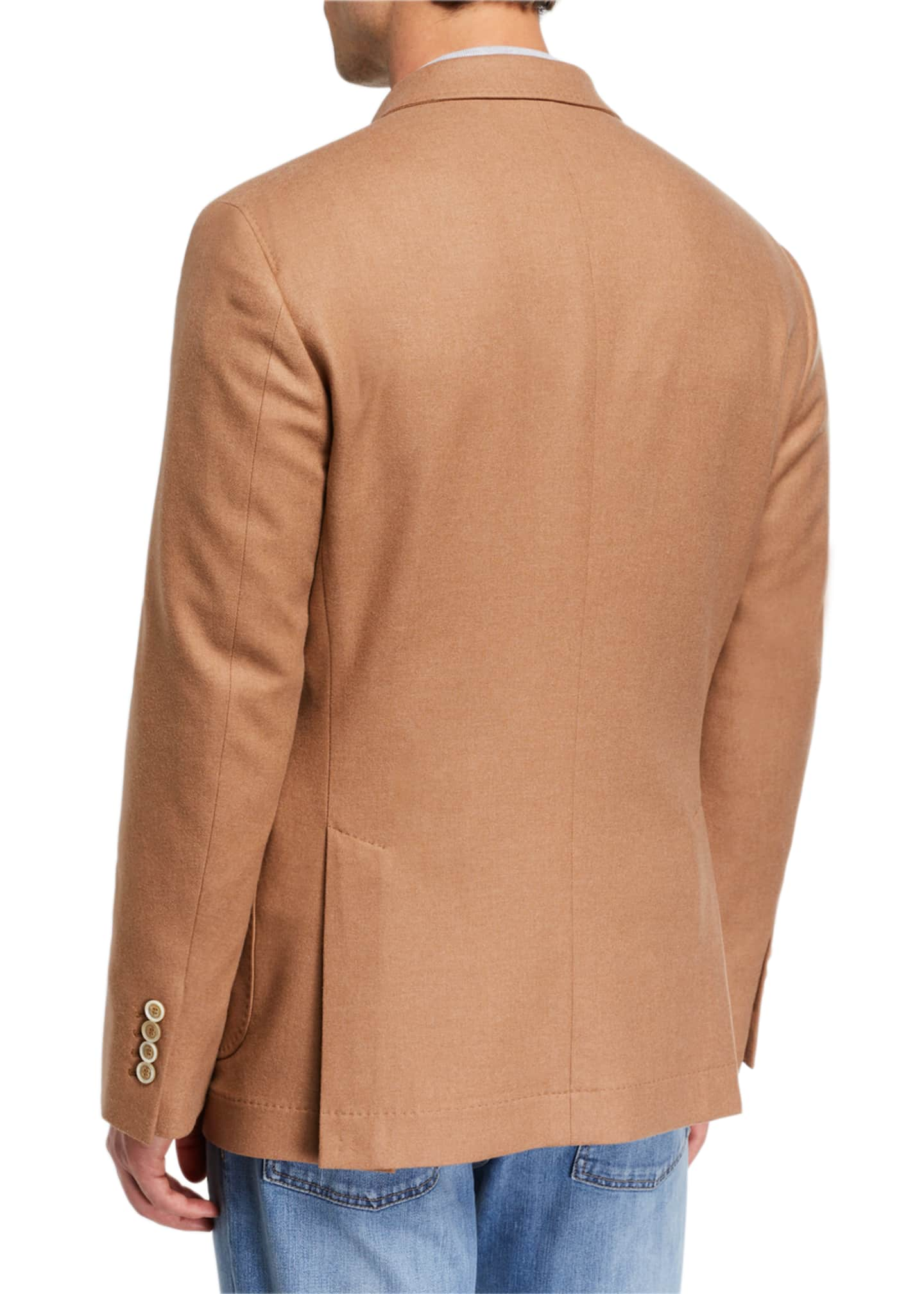 Image 2 of 3: Men's Patch-Pocket Two-Button Jacket