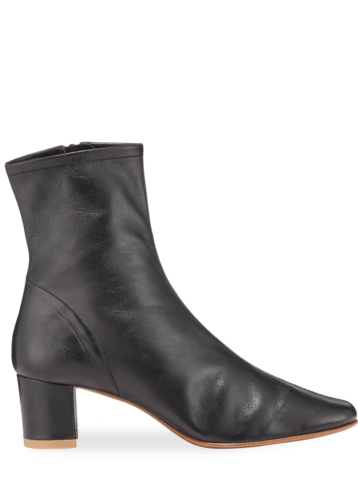 Image 2 of 5: Sofia Leather Ankle Booties