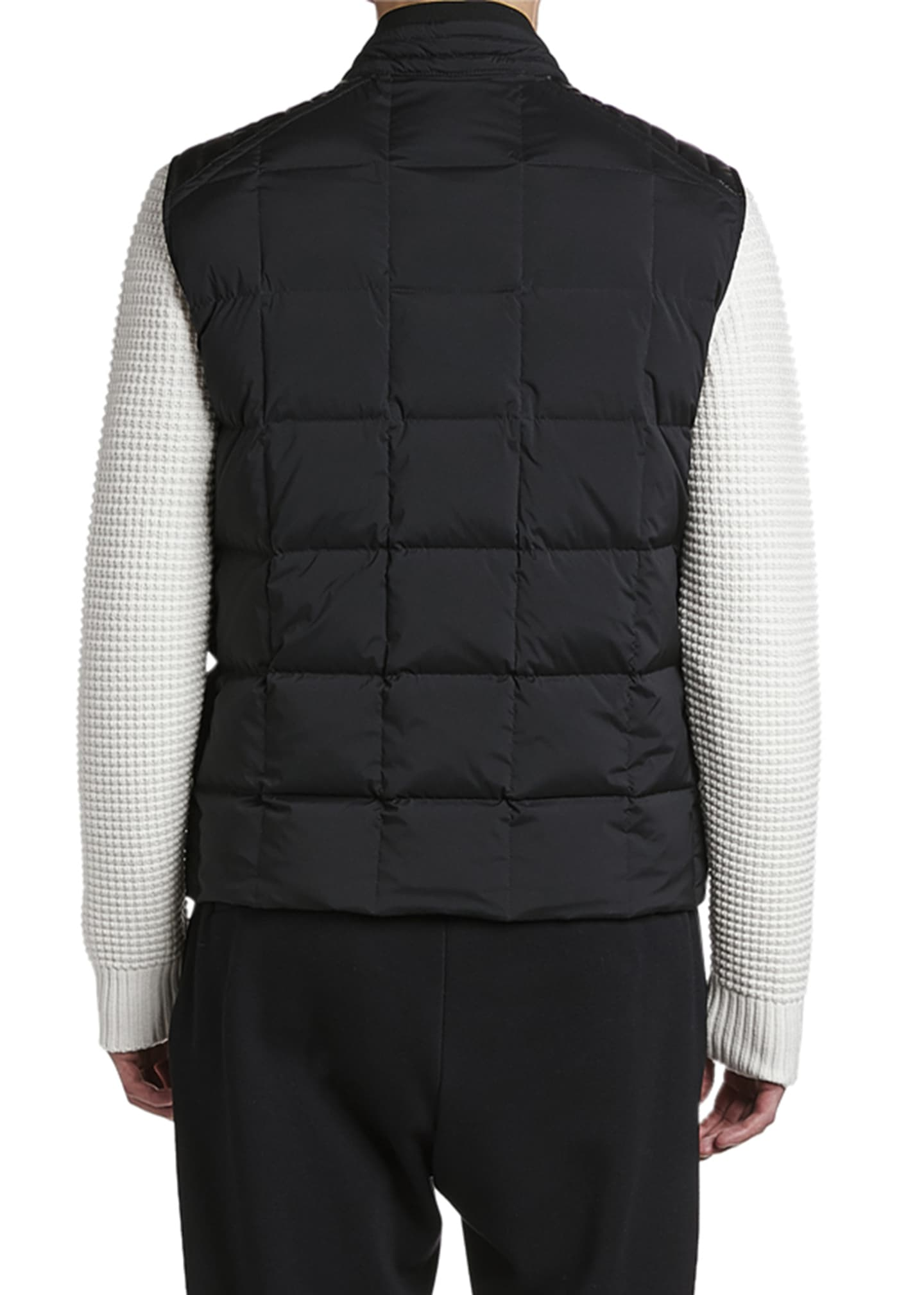 Image 2 of 2: Men's Holsteiner Zip-Front Quilted Vest