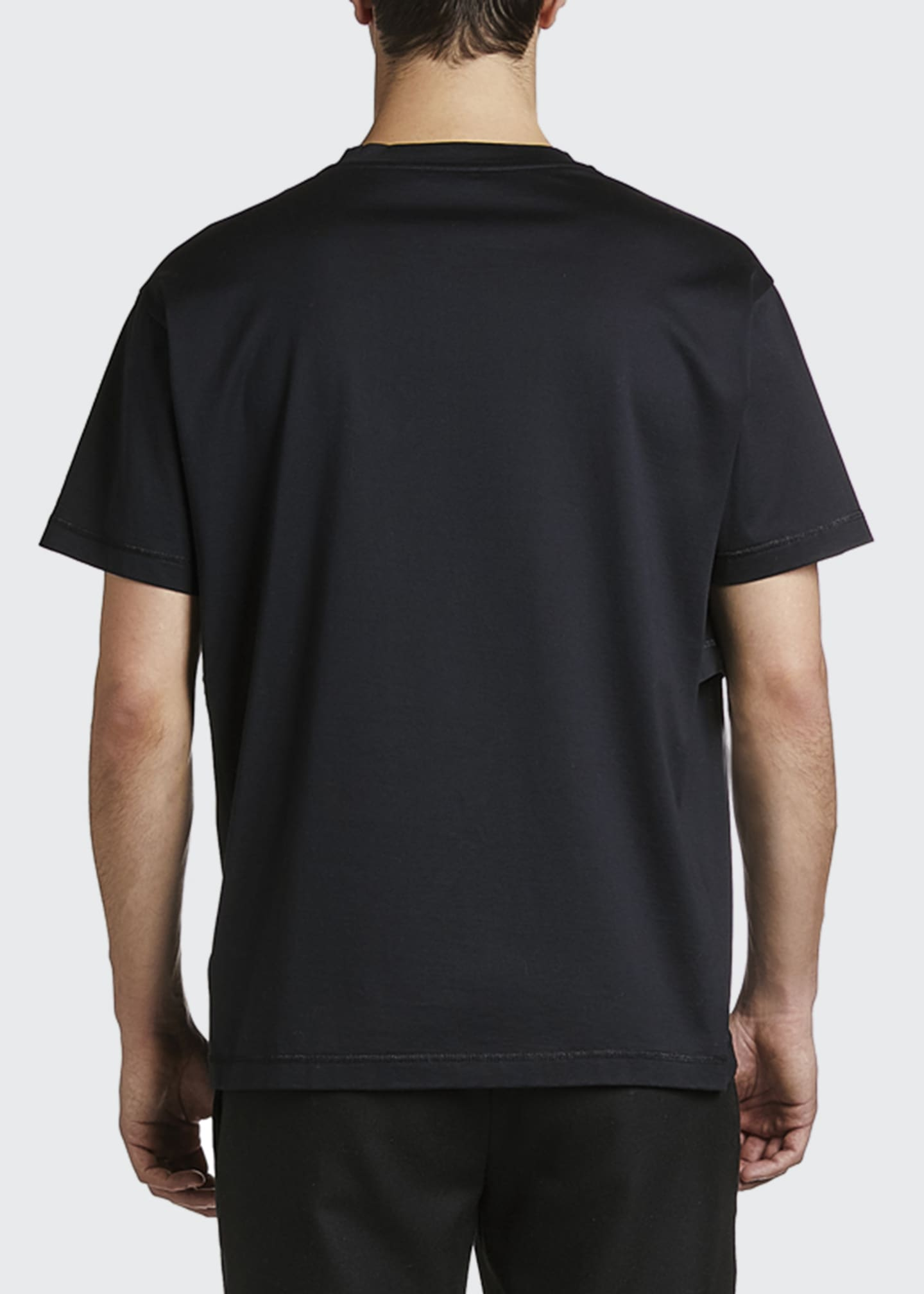 Image 2 of 2: Men's Solid Jersey T-Shirt