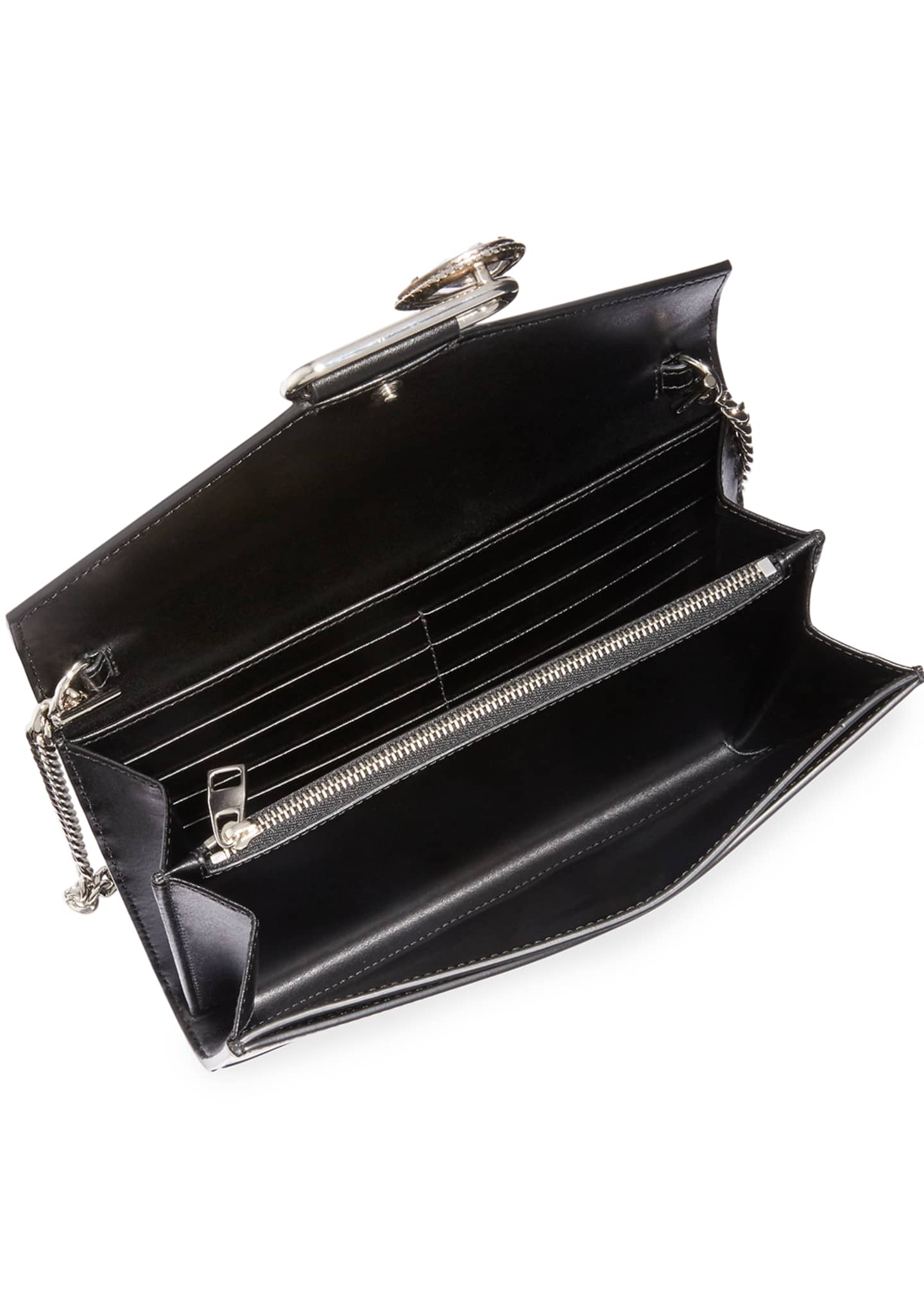 Image 2 of 3: Mini Pin Leather Clutch Bag