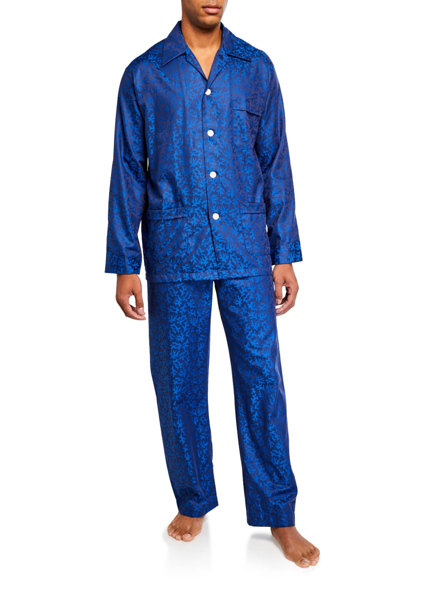 Derek Rose Men's Paris 16 Classic Pajama Set