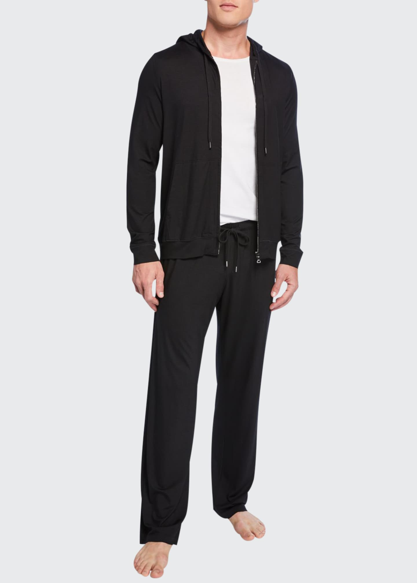Derek Rose Men's Basel 1 Jersey Lounge Pants