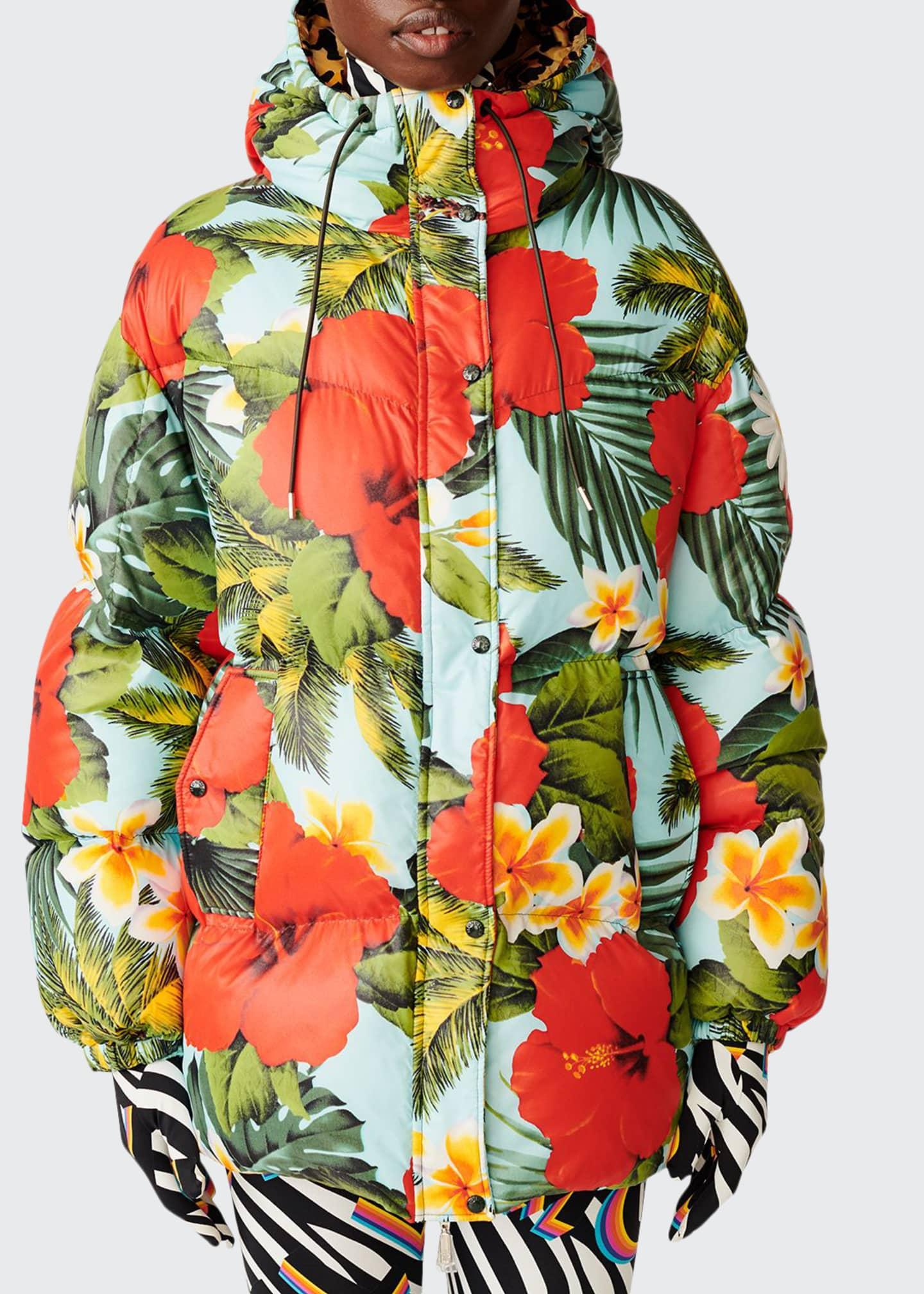 Moncler Genius Richard Quinn Mary Floral Puffer Jacket