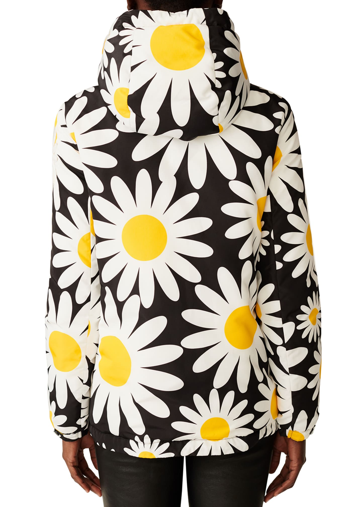 Image 2 of 2: Richard Quinn Hooded Daisy Jacket