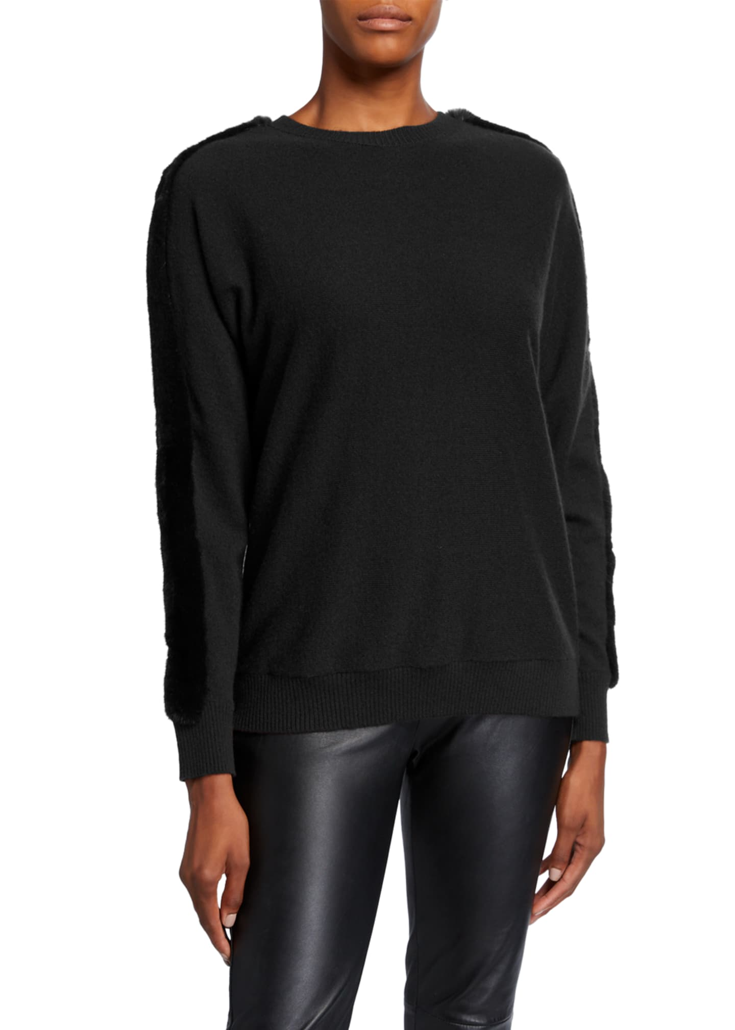 Lafayette 148 New York Cashmere Dolman Sweater with
