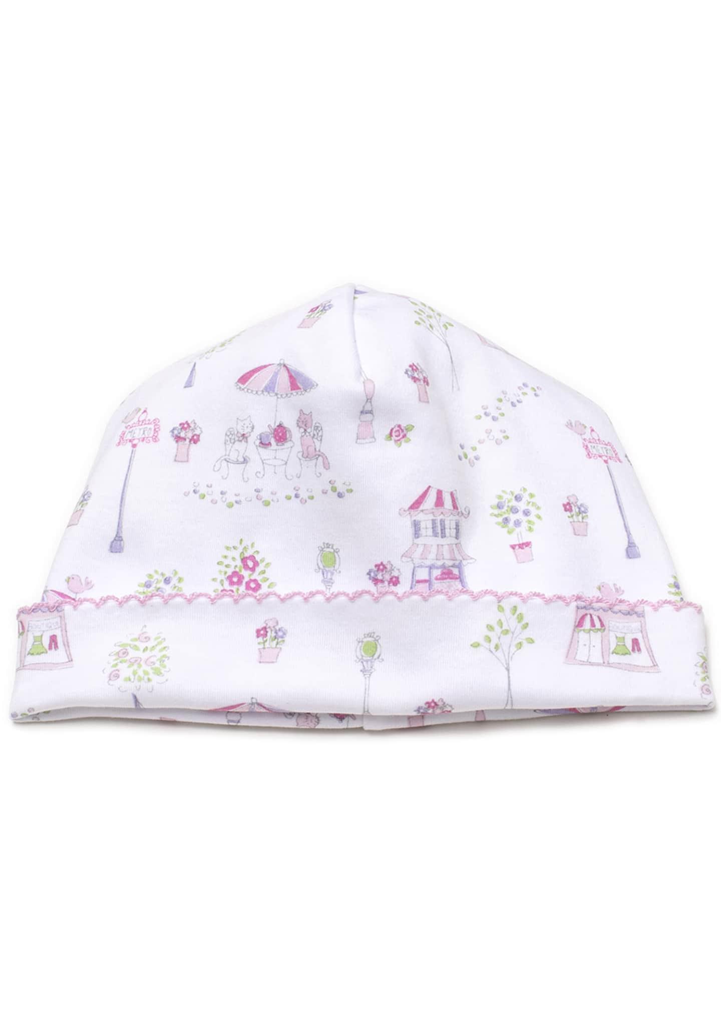 Kissy Kissy Girls' Parisian Promenade Hat, Newborn -