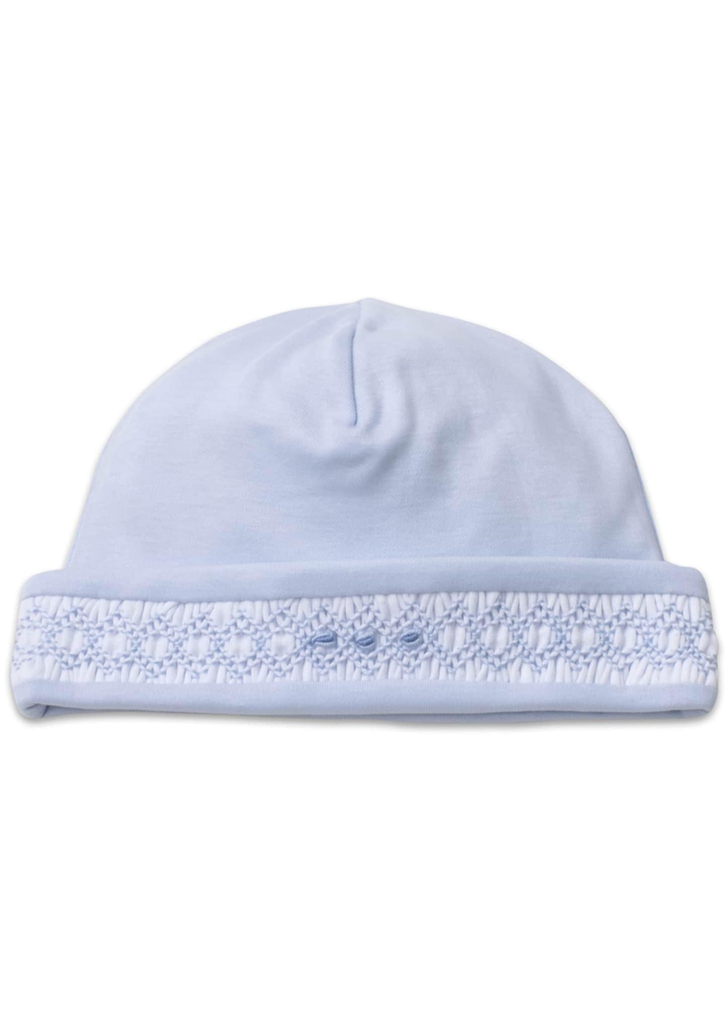 Kissy Kissy Boys' CLB Fall Blue Hat, Newborn-Small