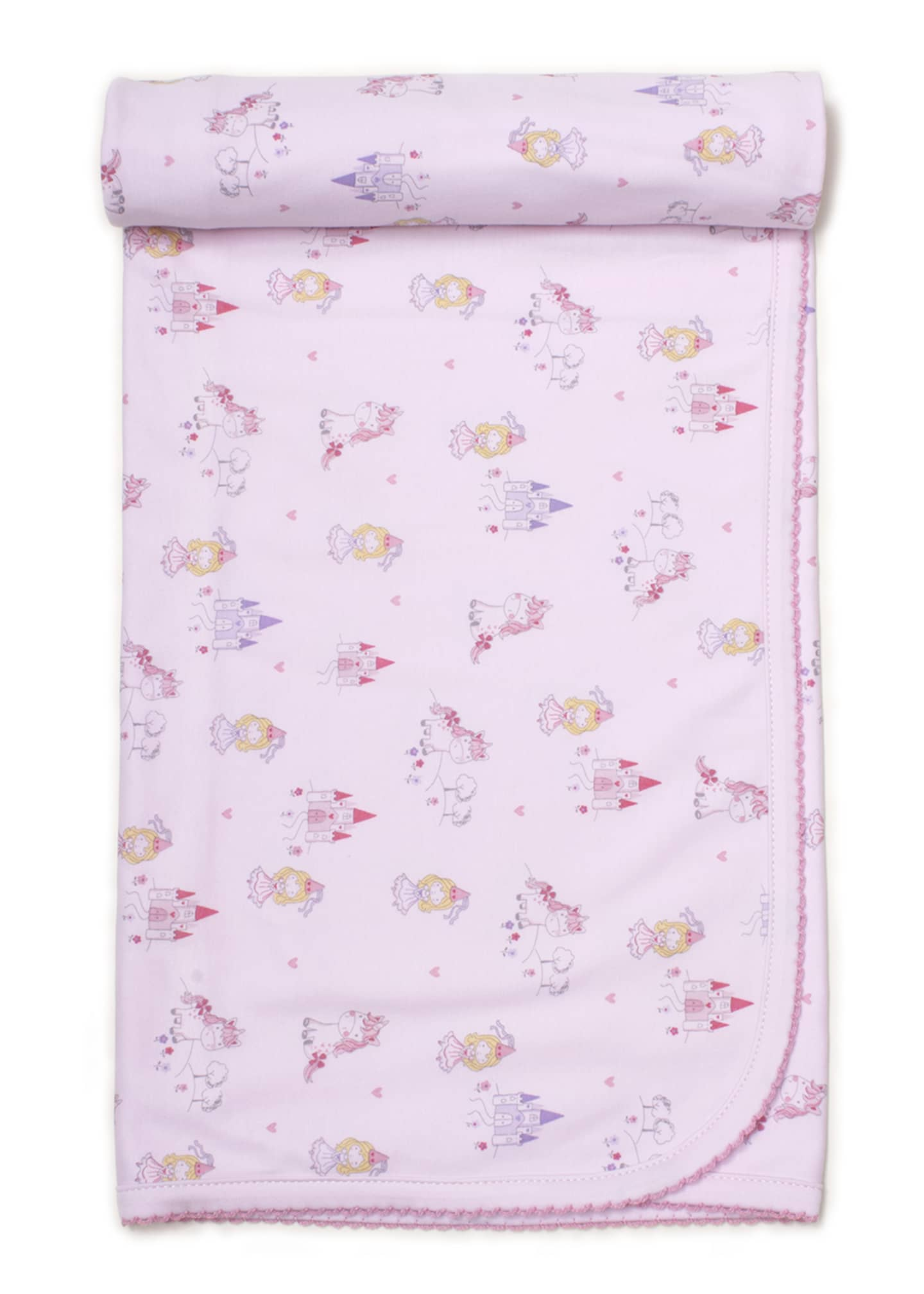 Kissy Kissy Unicorn Magic Printed Baby Blanket