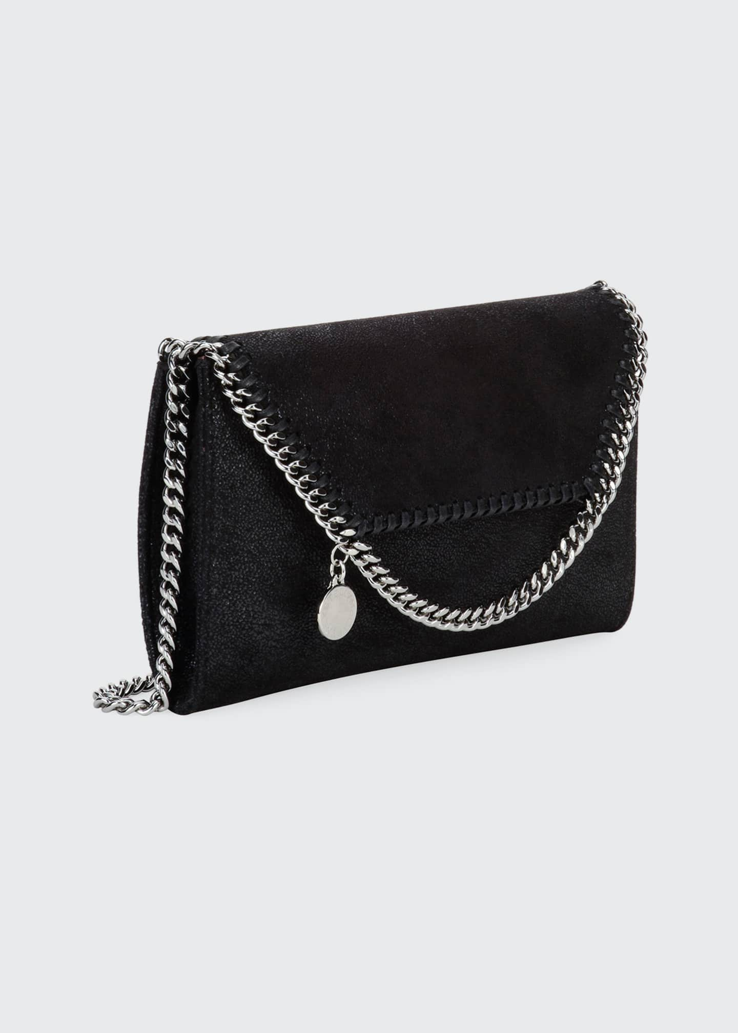 Image 3 of 5: Falabella Mini Shaggy Deer Wallet on Chain