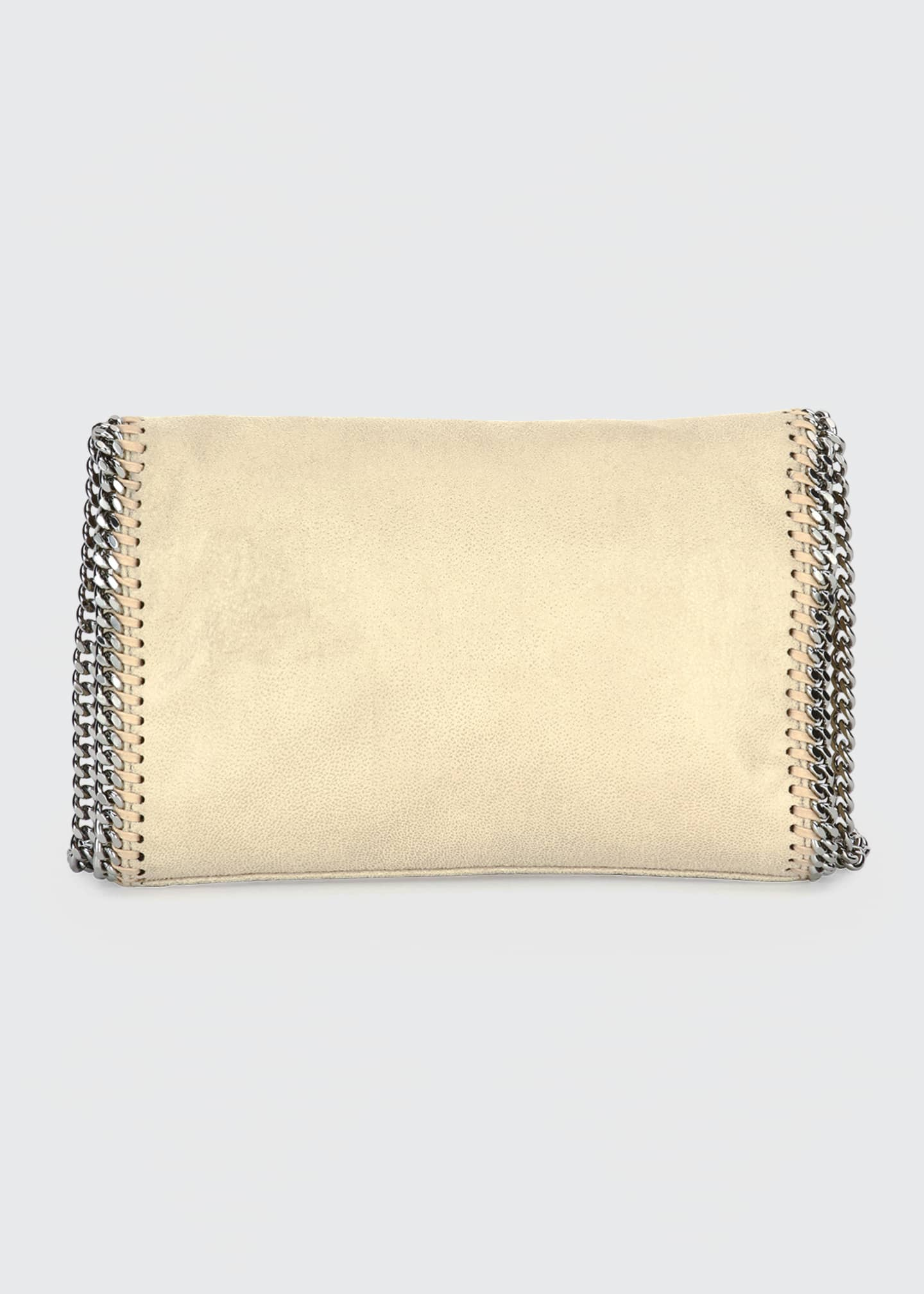 Image 4 of 5: Falabella Mini Shaggy Deer Wallet on Chain