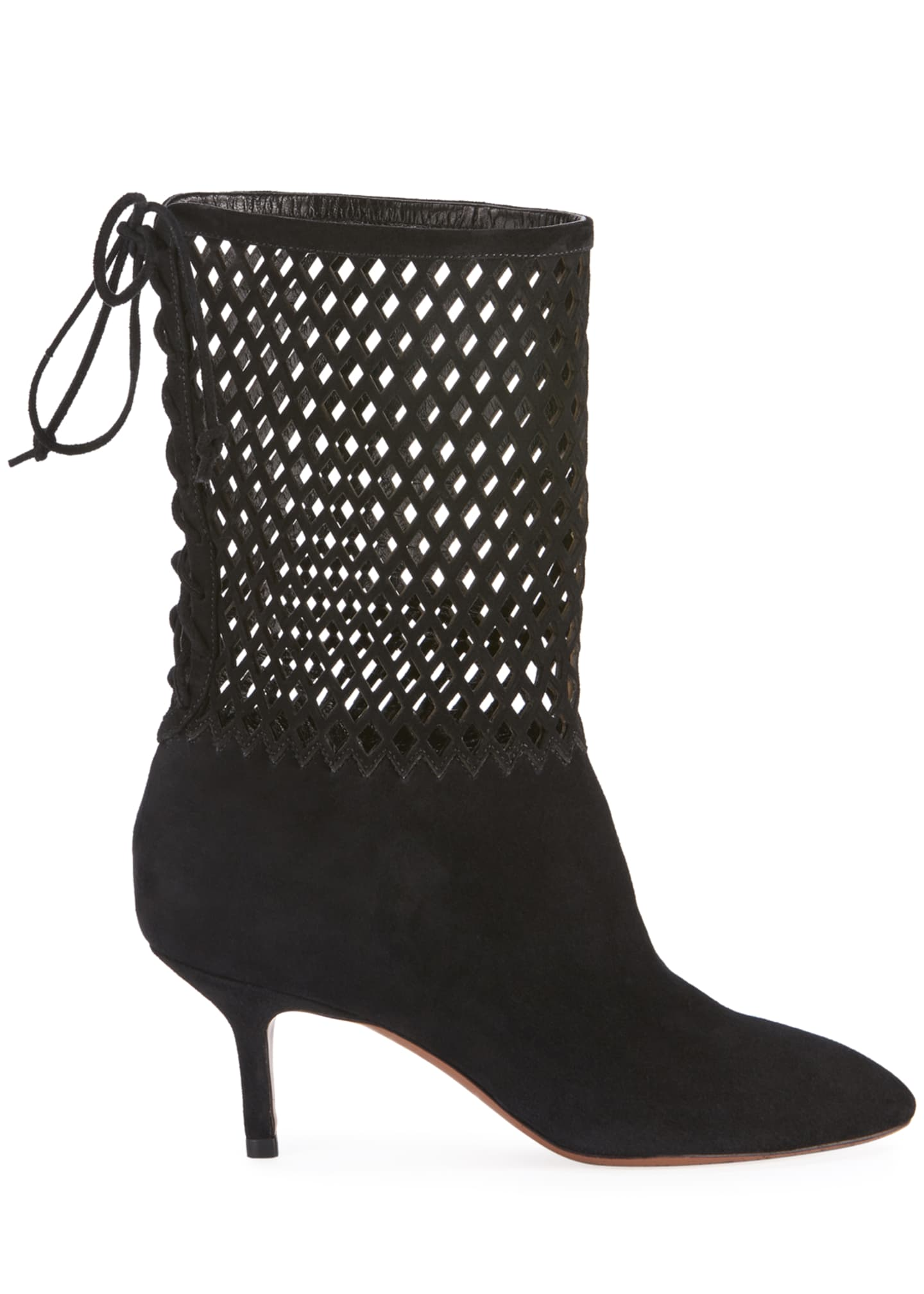 Image 2 of 4: Chamoise Laser-Cut Booties