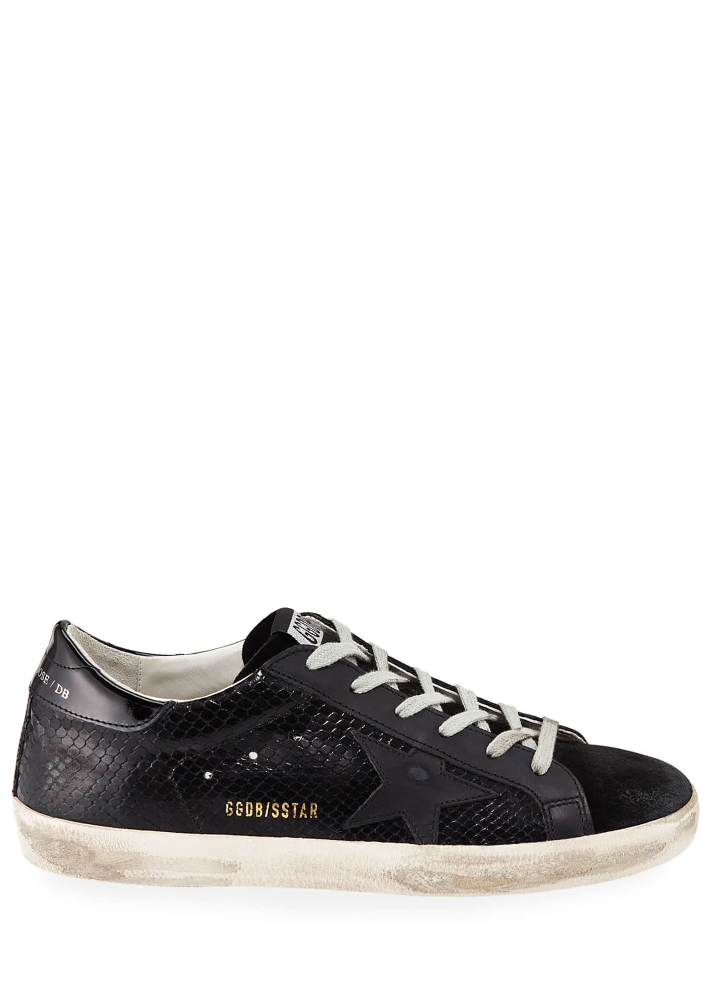 Image 2 of 3: Superstar Tonal Leather Sneakers