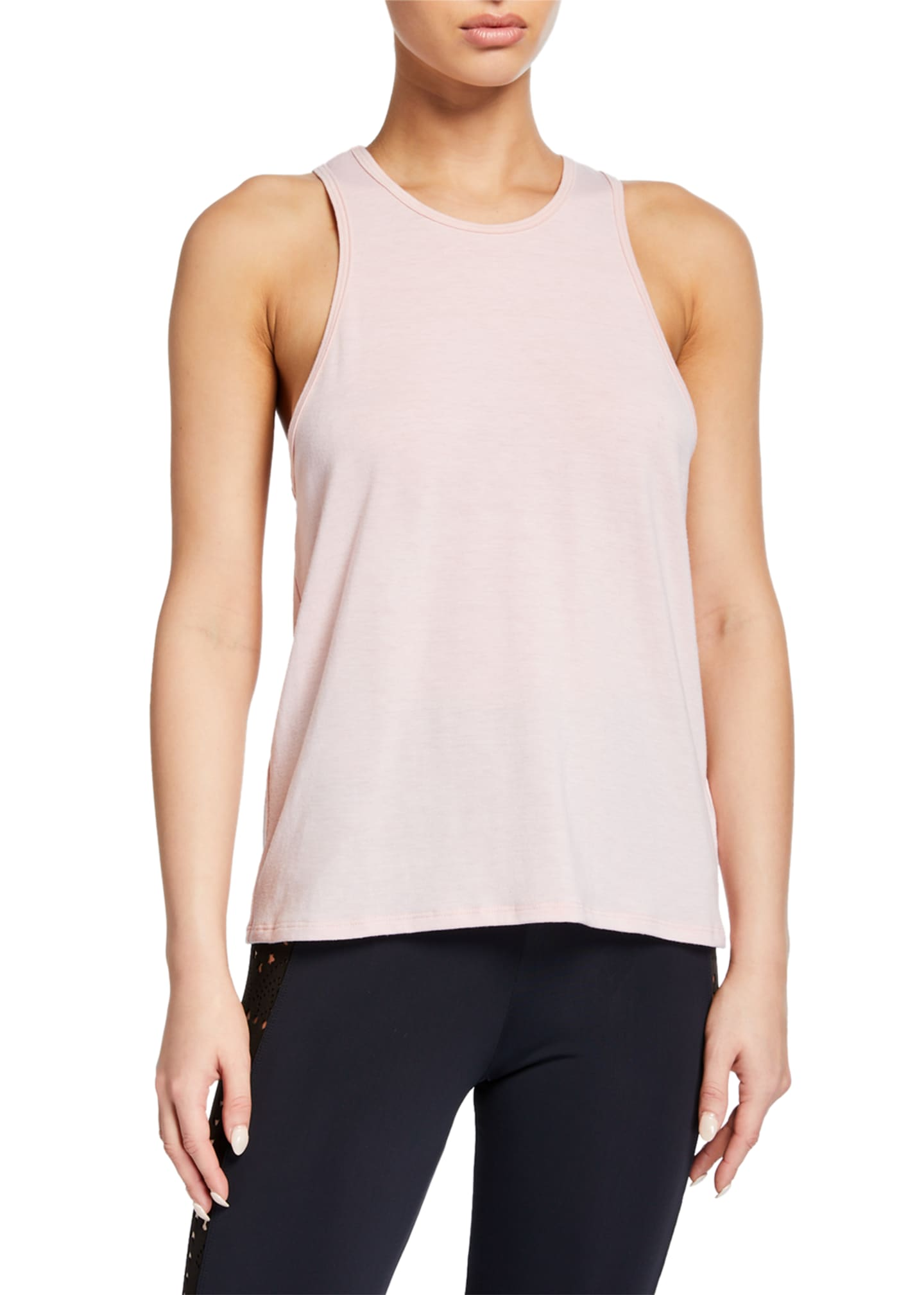 Onzie Flow Cutout-Back Tank Top