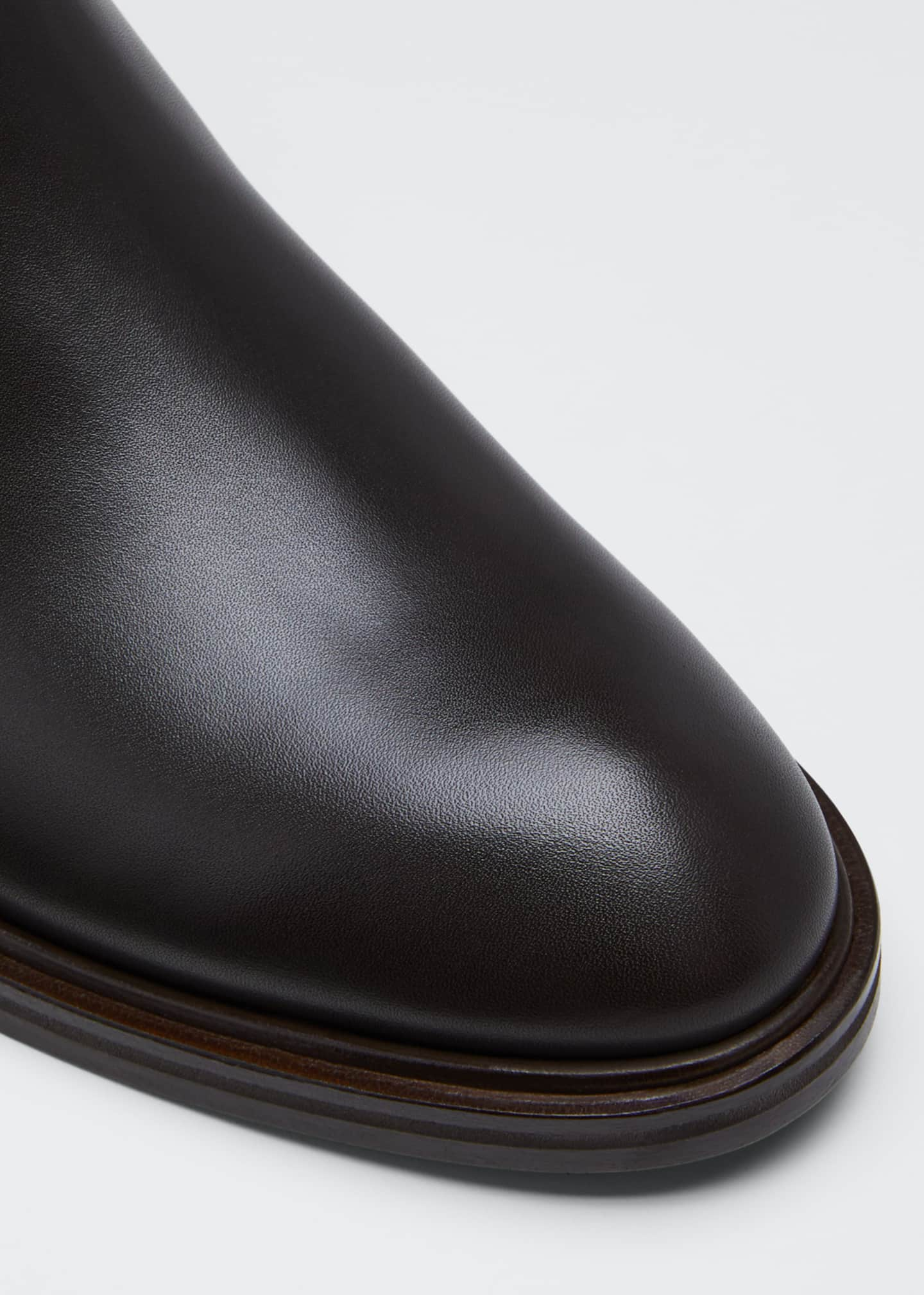 Image 5 of 5: Auckland Leather Chelsea Booties