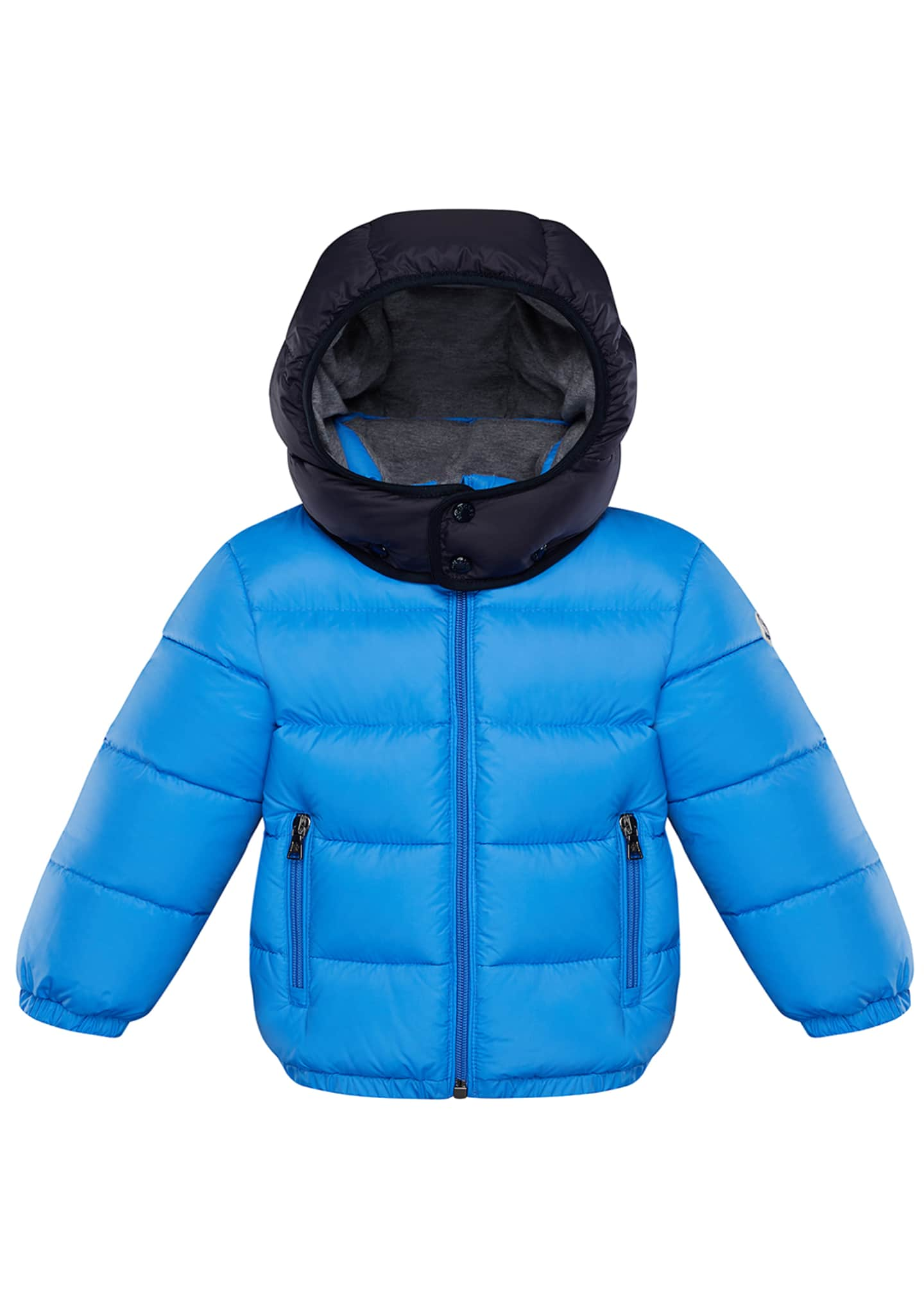 Image 1 of 2: Perols Quilted Hooded Puffer Jacket, Size 12M-3