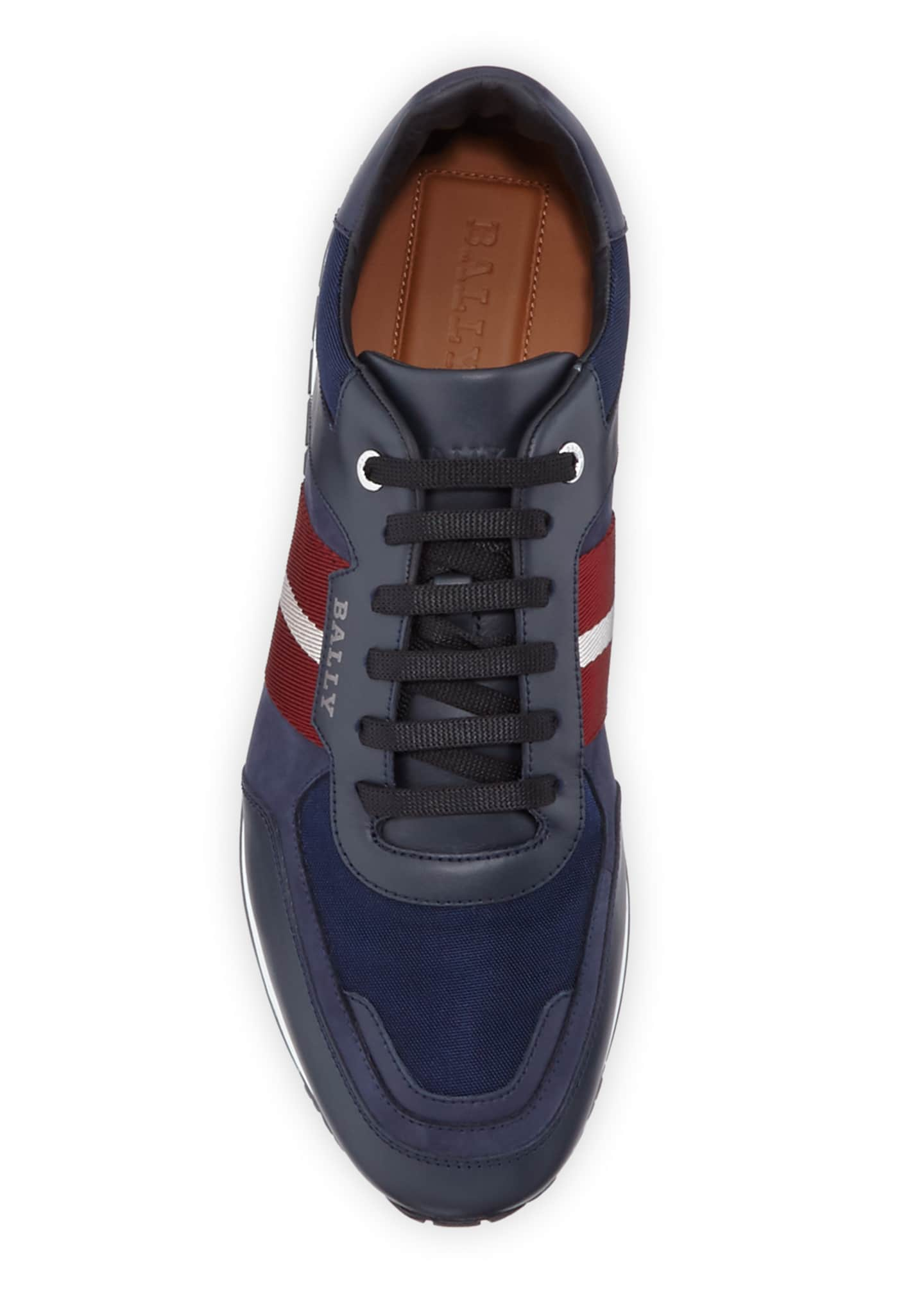 Image 2 of 3: Men's Aseo Multicolor Trainspotting-Stripe Sneakers